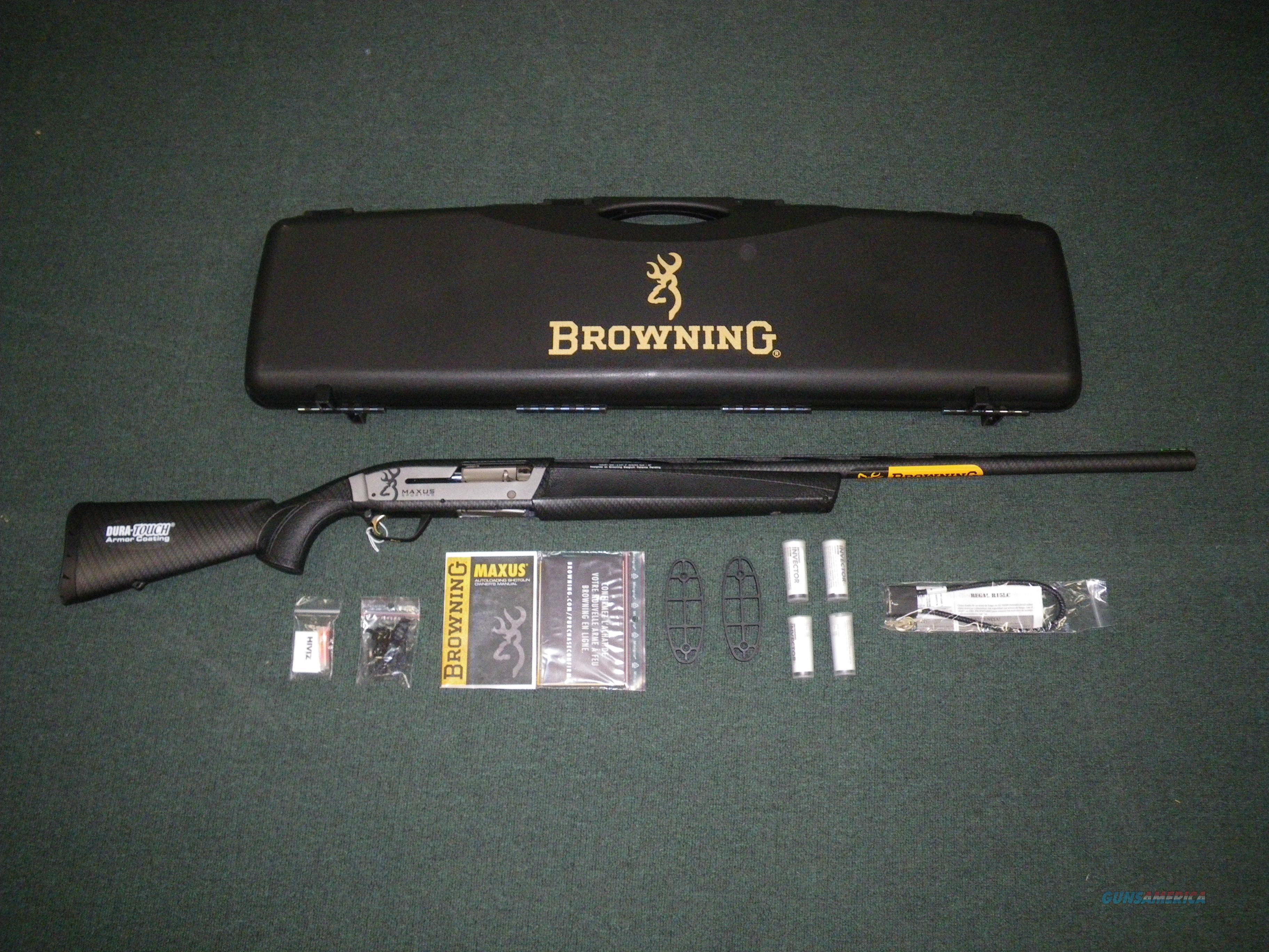 """Browning Maxus Sporting Carbon Fiber 12ga 28"""" NEW #011609304  Guns > Shotguns > Browning Shotguns > Autoloaders > Hunting"""