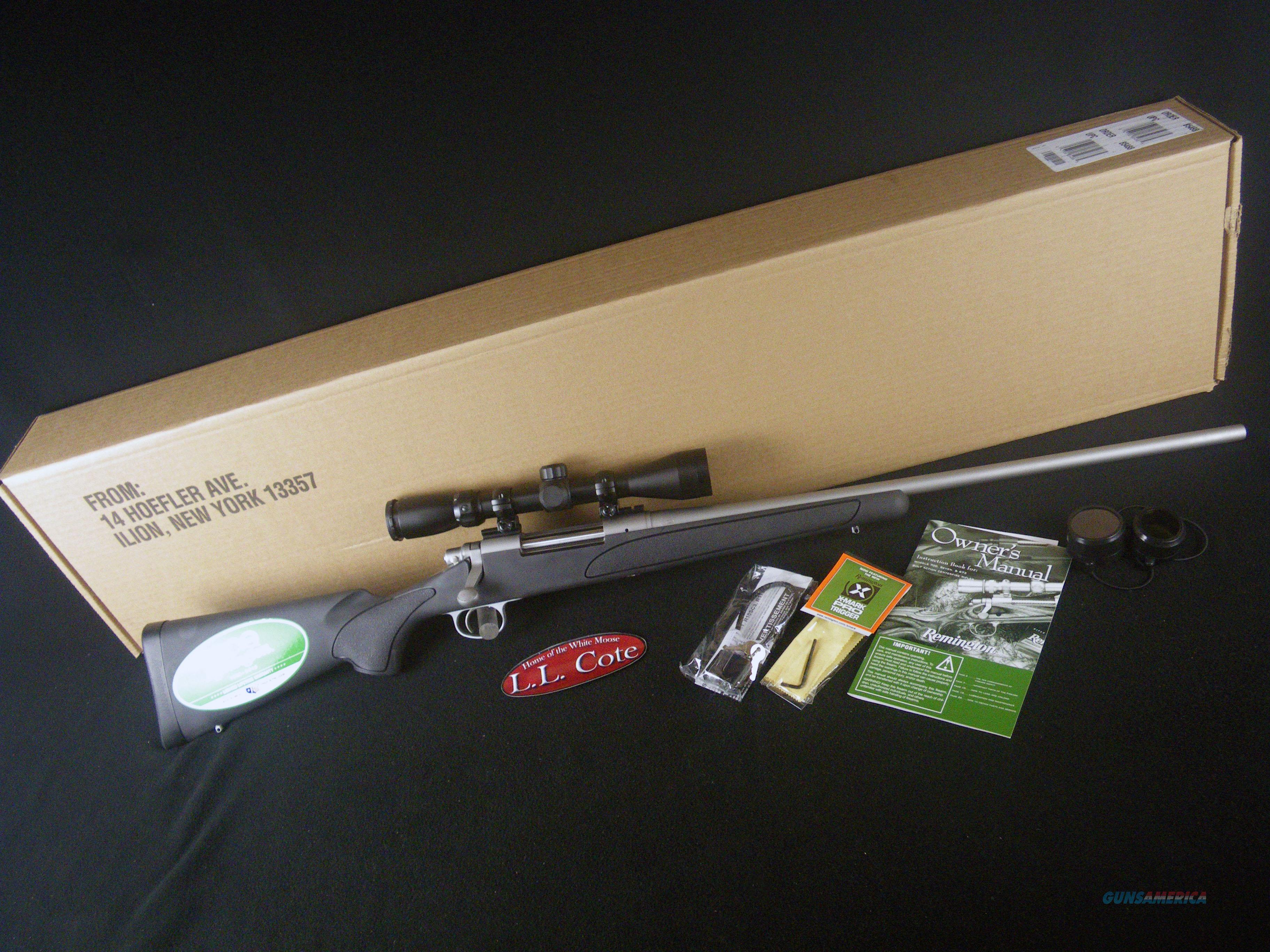 "Remington 700 ADL SS W/Scope 308 Win 24"" NEW 85490  Guns > Rifles > Remington Rifles - Modern > Model 700 > Sporting"