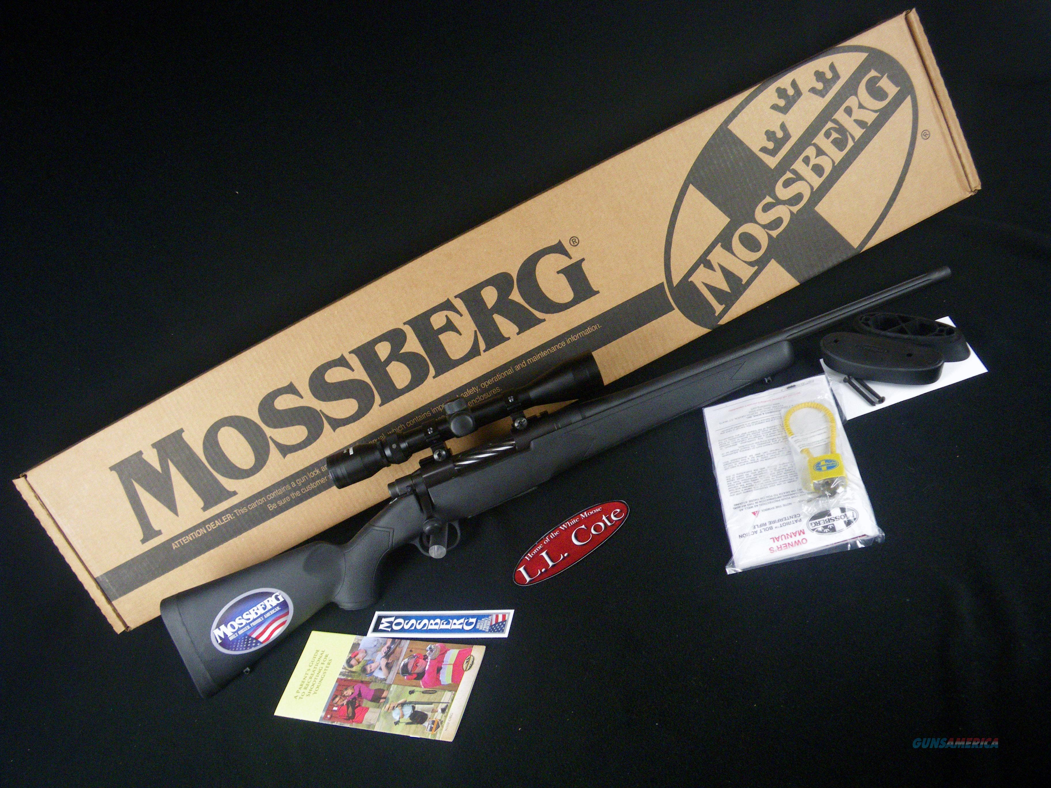"Mossberg Patriot Youth Super Bantam 243Win 20"" NEW 27840  Guns > Rifles > Mossberg Rifles > Patriot"