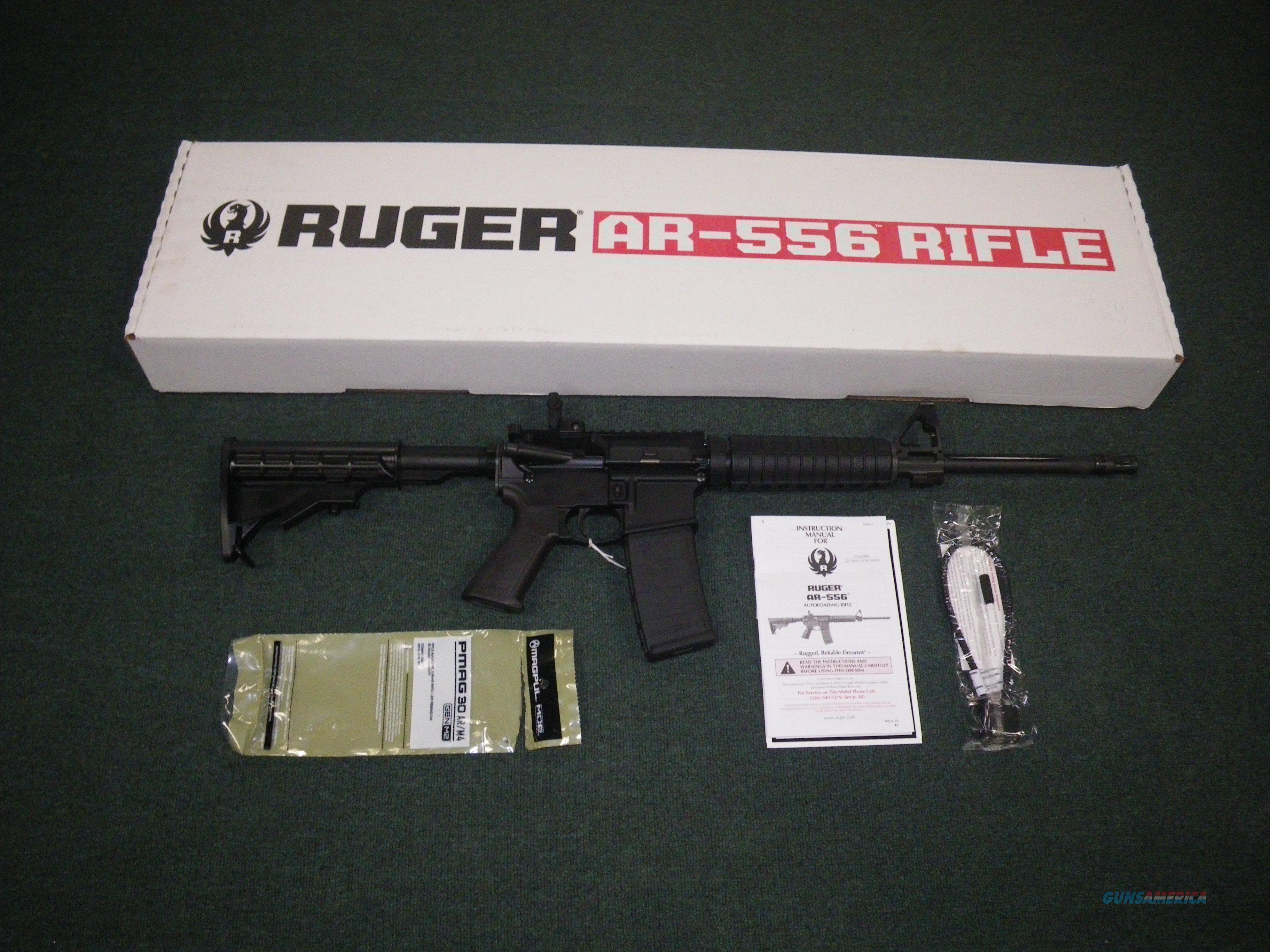 "Ruger AR-556 AR-15 5.56 Nato/.223 Rem 16.1"" NEW #8500  Guns > Rifles > Ruger Rifles > AR Series"