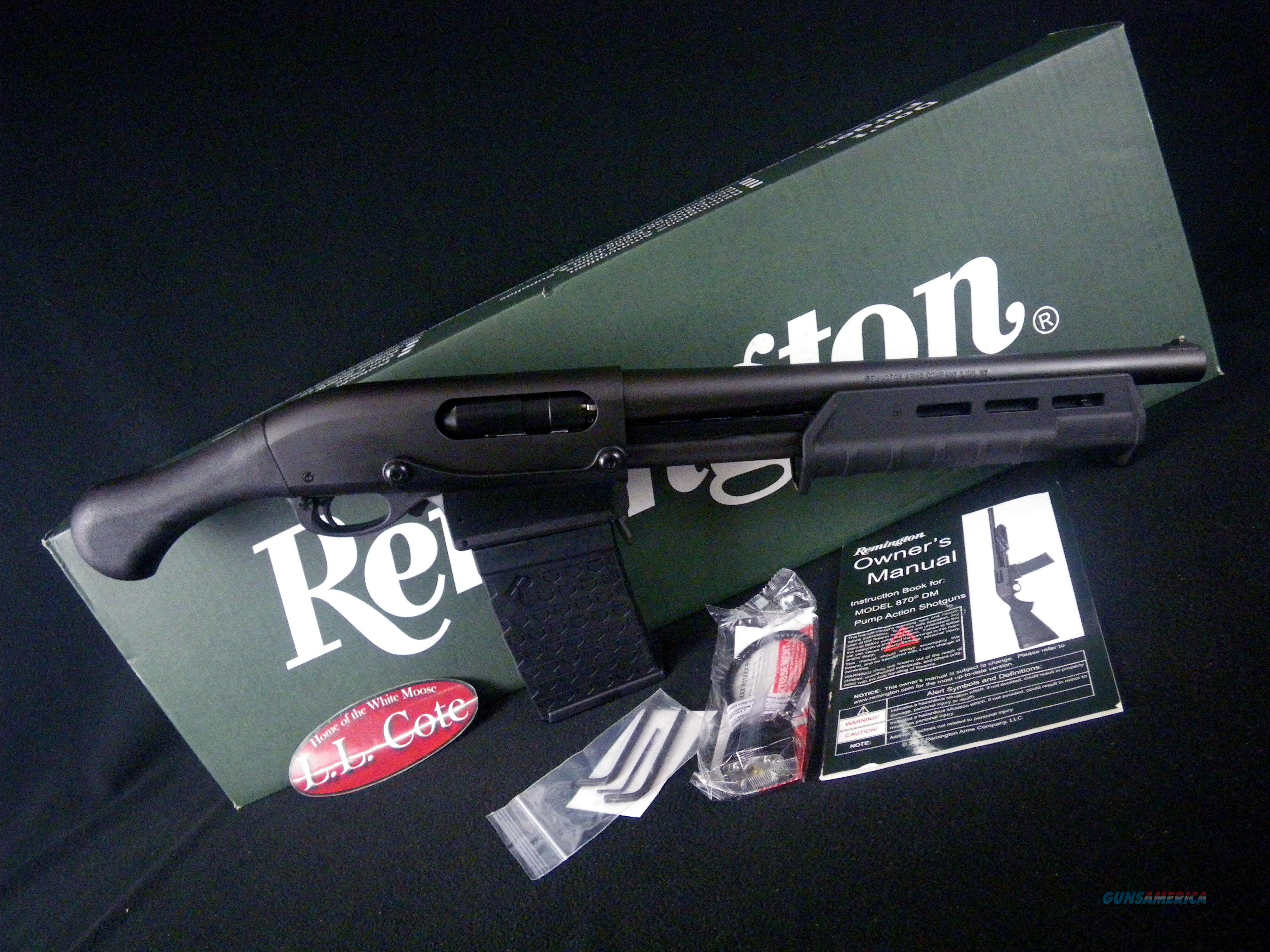 "Remington 870 Tac-14 DM Black 12ga 14"" NEW 3"" 81348  Guns > Shotguns > Remington Shotguns  > Pump > Hunting"