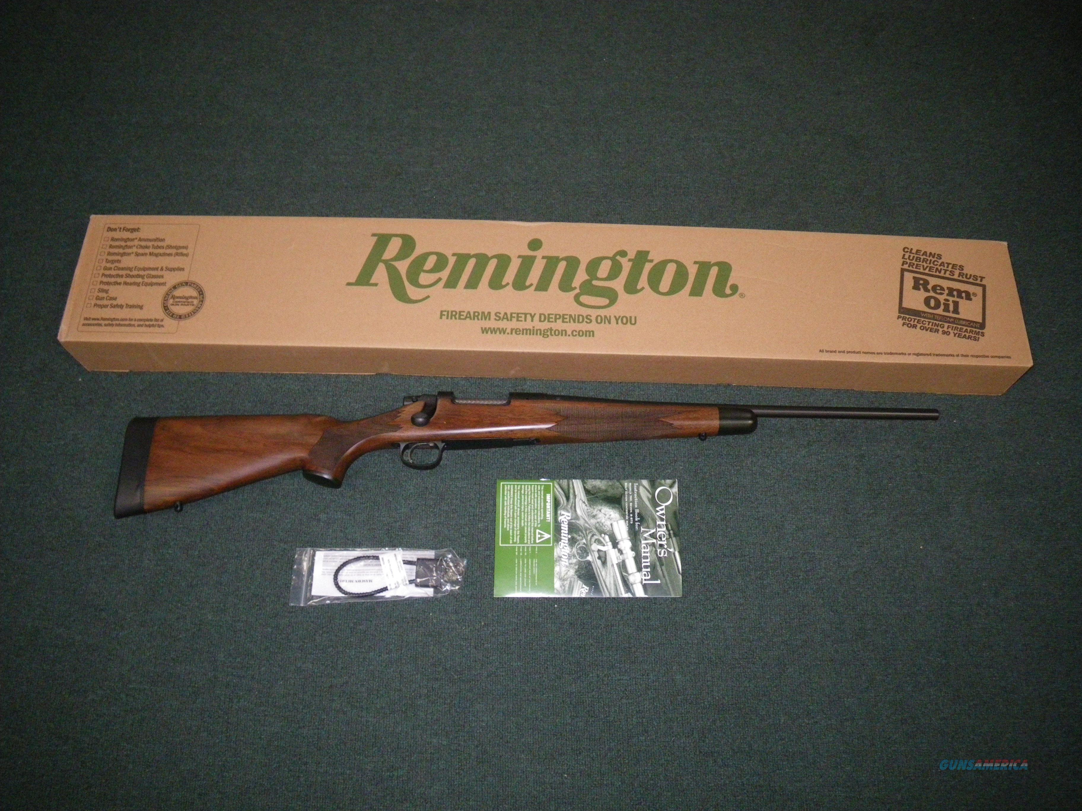 "Remington Model Seven CDL 308 Win 20"" Wood NEW #26423  Guns > Rifles > Remington Rifles - Modern > Bolt Action Non-Model 700 > Sporting"