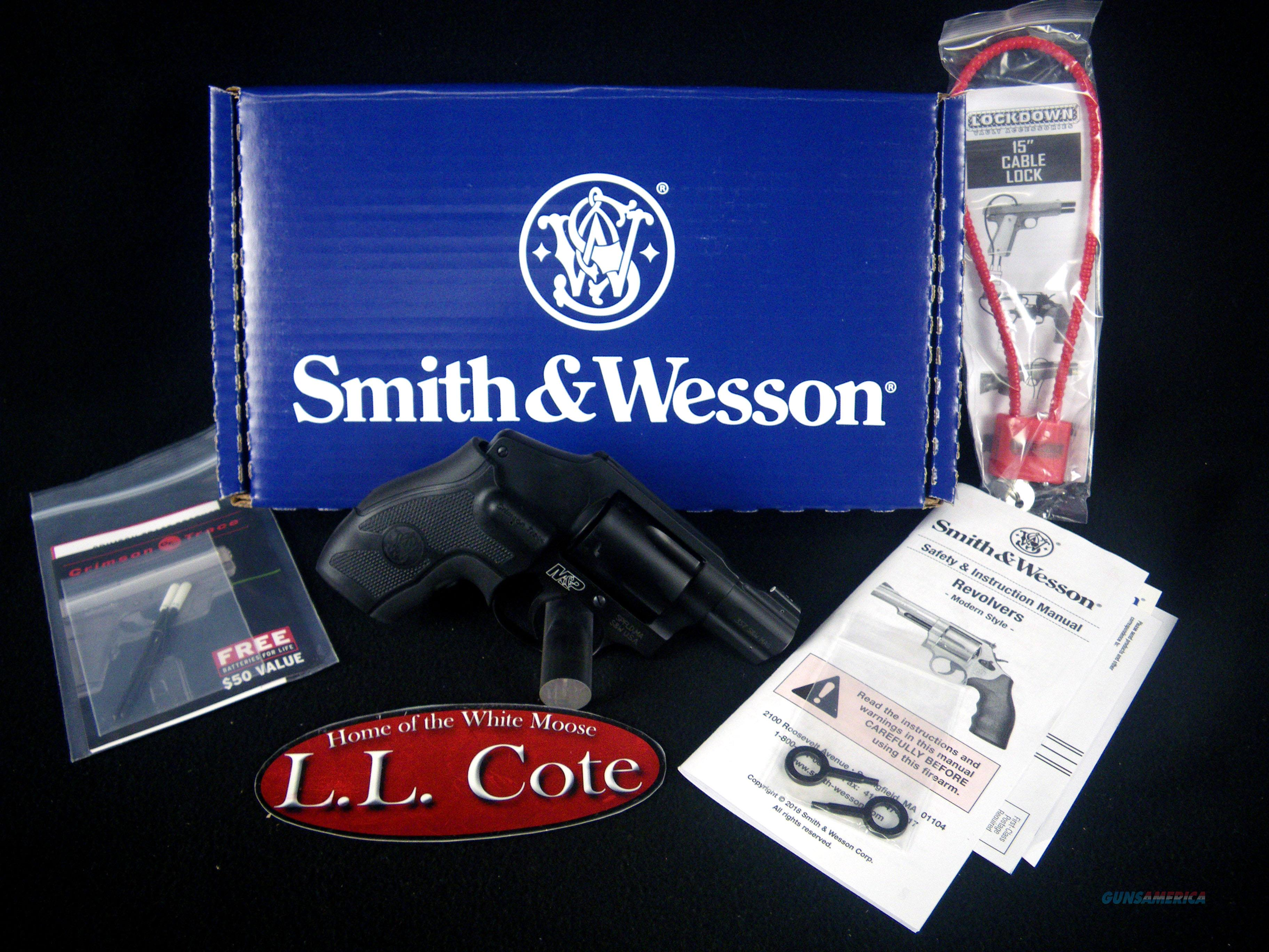 """Smith & Wesson M&P340 357mag CT Laser 1.875"""" NEW 163073  Guns > Pistols > Smith & Wesson Revolvers > Small Frame ( J )"""