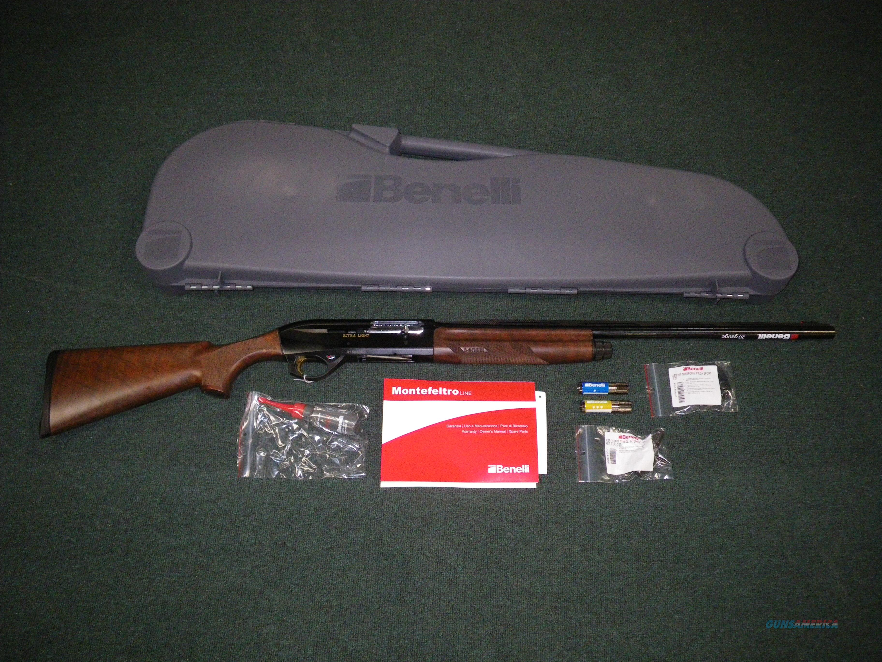 "Benelli Ultra Light Shotgun Semi-Auto 12ga 26"" NIB #10802  Guns > Shotguns > Benelli Shotguns > Sporting"