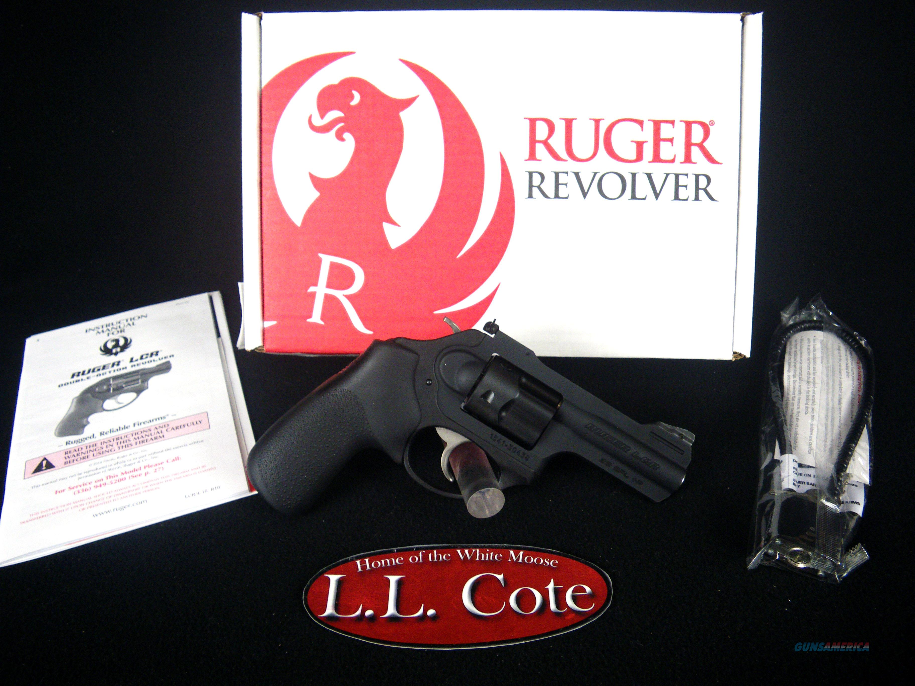 "Ruger LCRx 38 Spl+P 3"" NEW Matte Black/Rubber 5431  Guns > Pistols > Ruger Double Action Revolver > LCR"