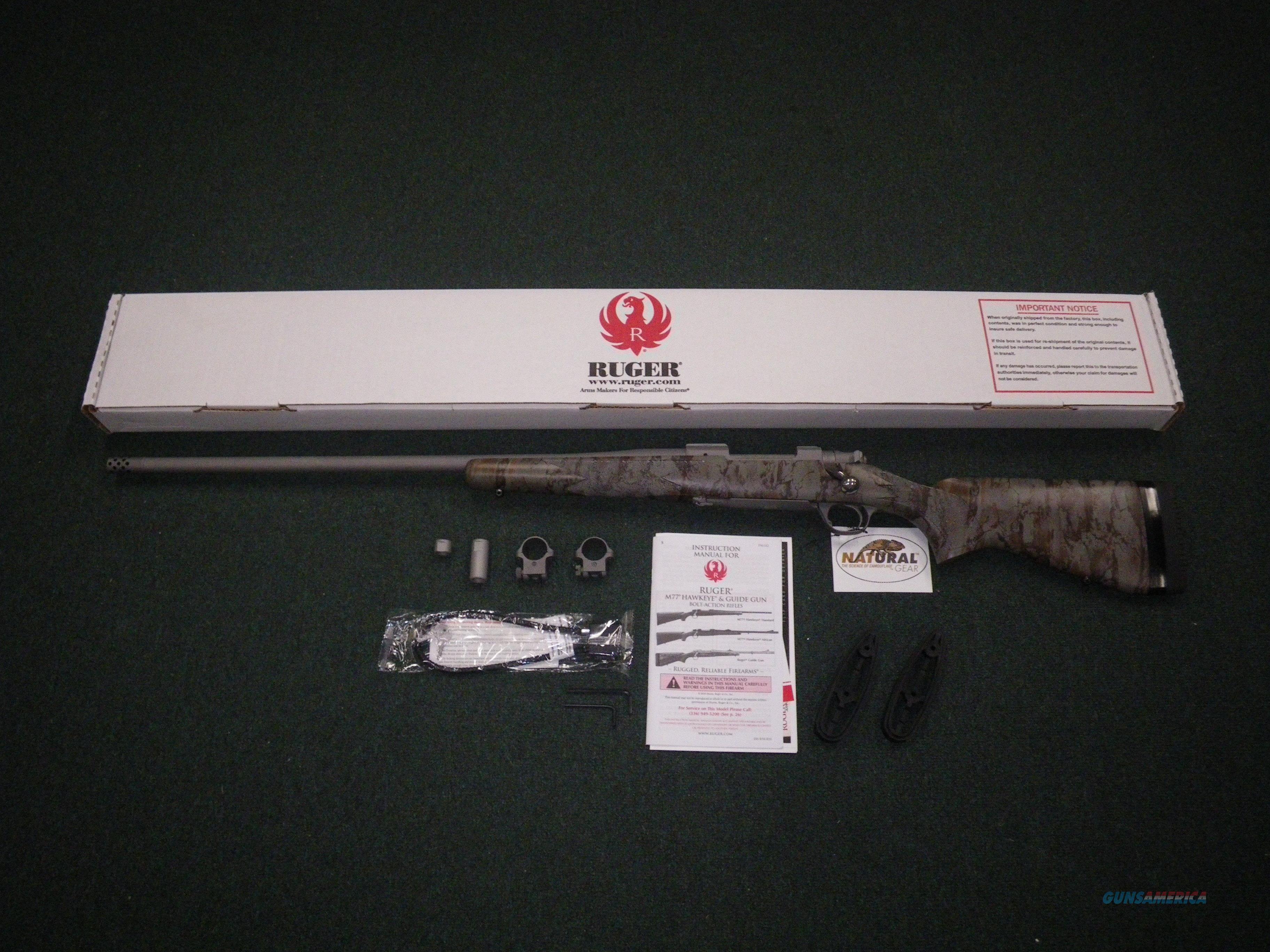"Ruger Hawkeye FTW Hunter Rifle LH 6.5 Creed 24"" NEW #47174  Guns > Rifles > Ruger Rifles > Model 77"