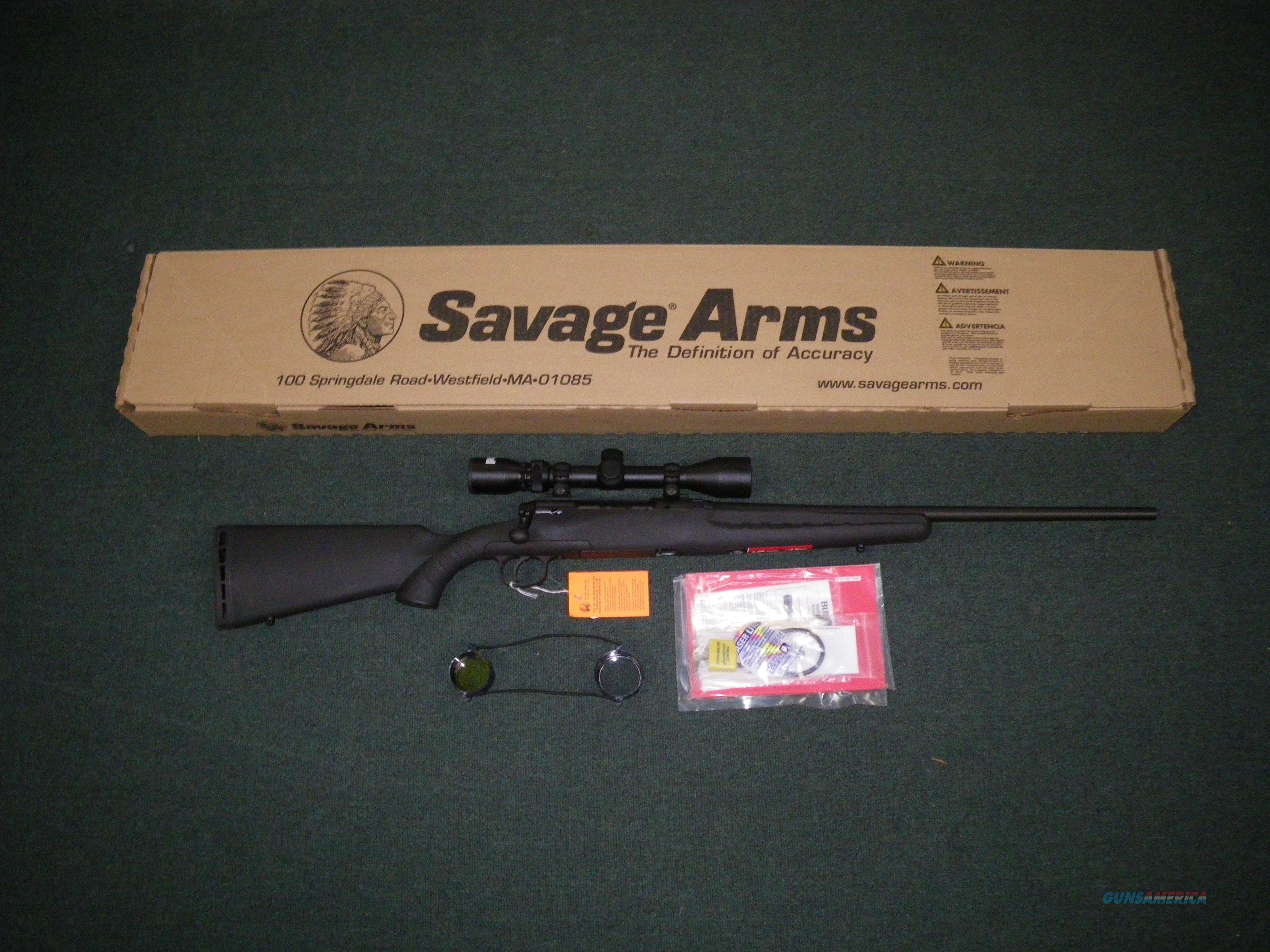 """Savage Axis XP Black 7mm-08 Rem 22"""" W/Scope #19197  Guns > Rifles > Savage Rifles > Axis"""