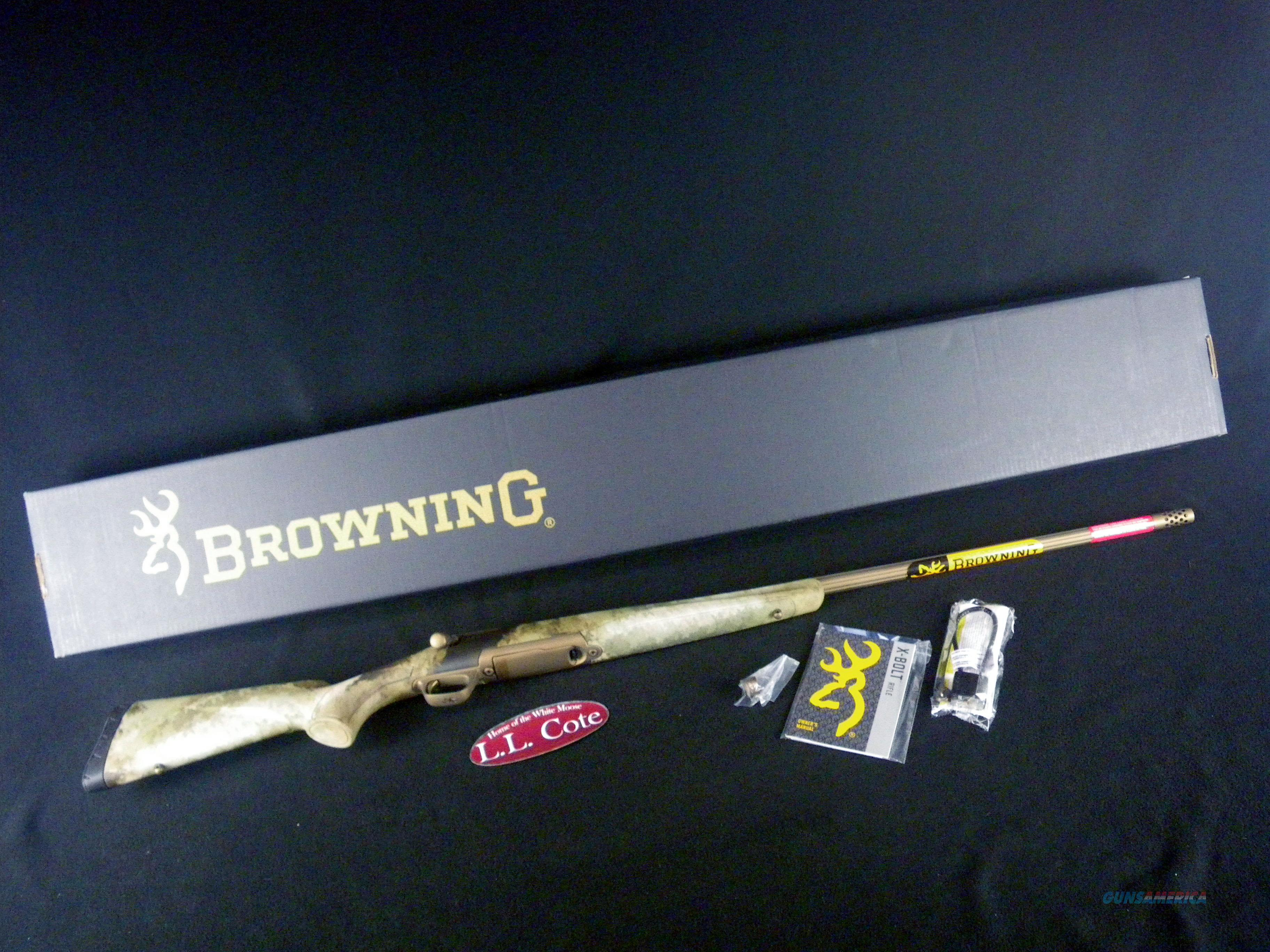 "Browning X-Bolt Hell's Canyon LR 28 Nos 26"" NEW 035499288  Guns > Rifles > Browning Rifles > Bolt Action > Hunting > Blue"