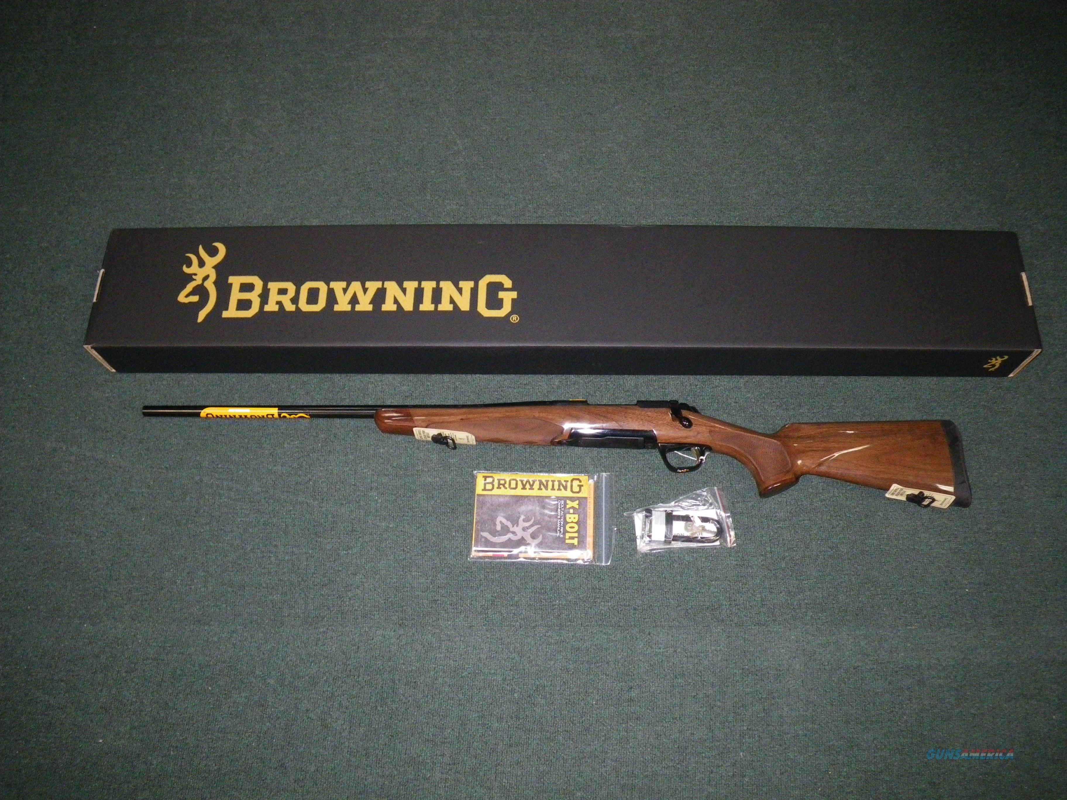 "Browning X-Bolt Medallion Left Hand 7mm Rem Mag 26"" #035253227  Guns > Rifles > Browning Rifles > Bolt Action > Hunting > Blue"