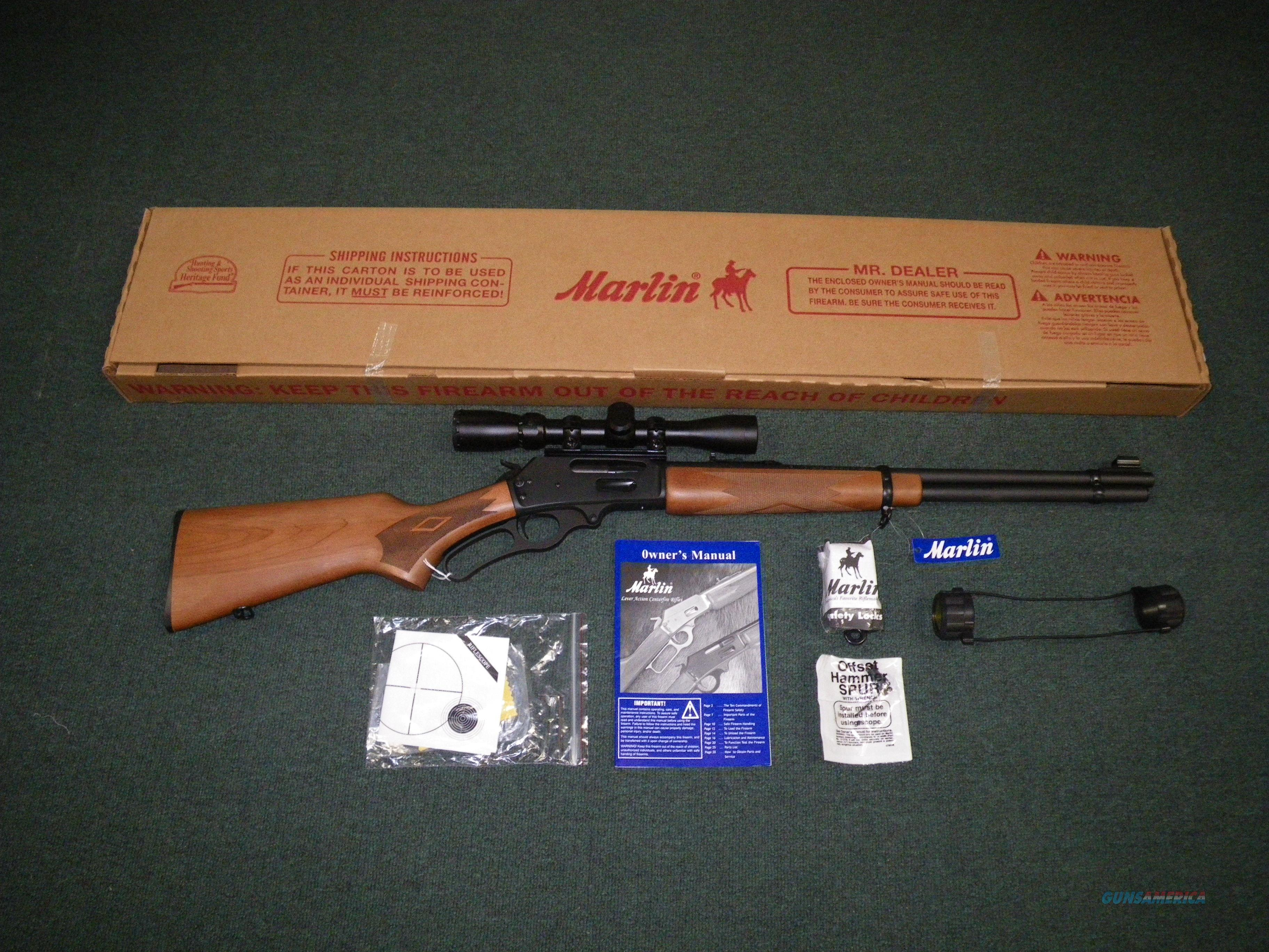 "Marlin 336W Lever With Scope 30-30 Win 20"" NEW #70521  Guns > Rifles > Marlin Rifles > Modern > Lever Action"