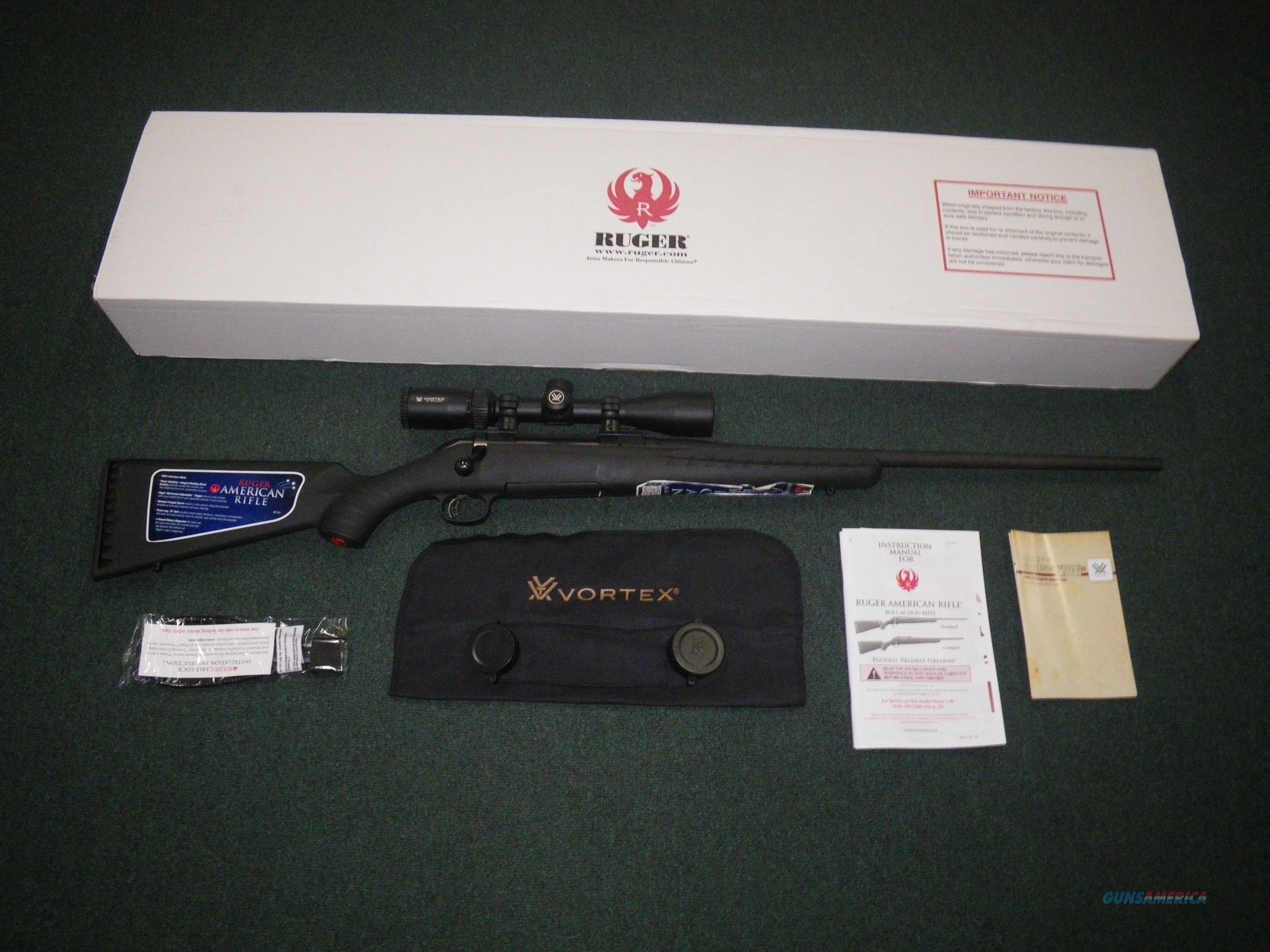 "Ruger American Vortex Scope Combo 308 Win 22"" NEW #16934  Guns > Rifles > Ruger Rifles > American Rifle"