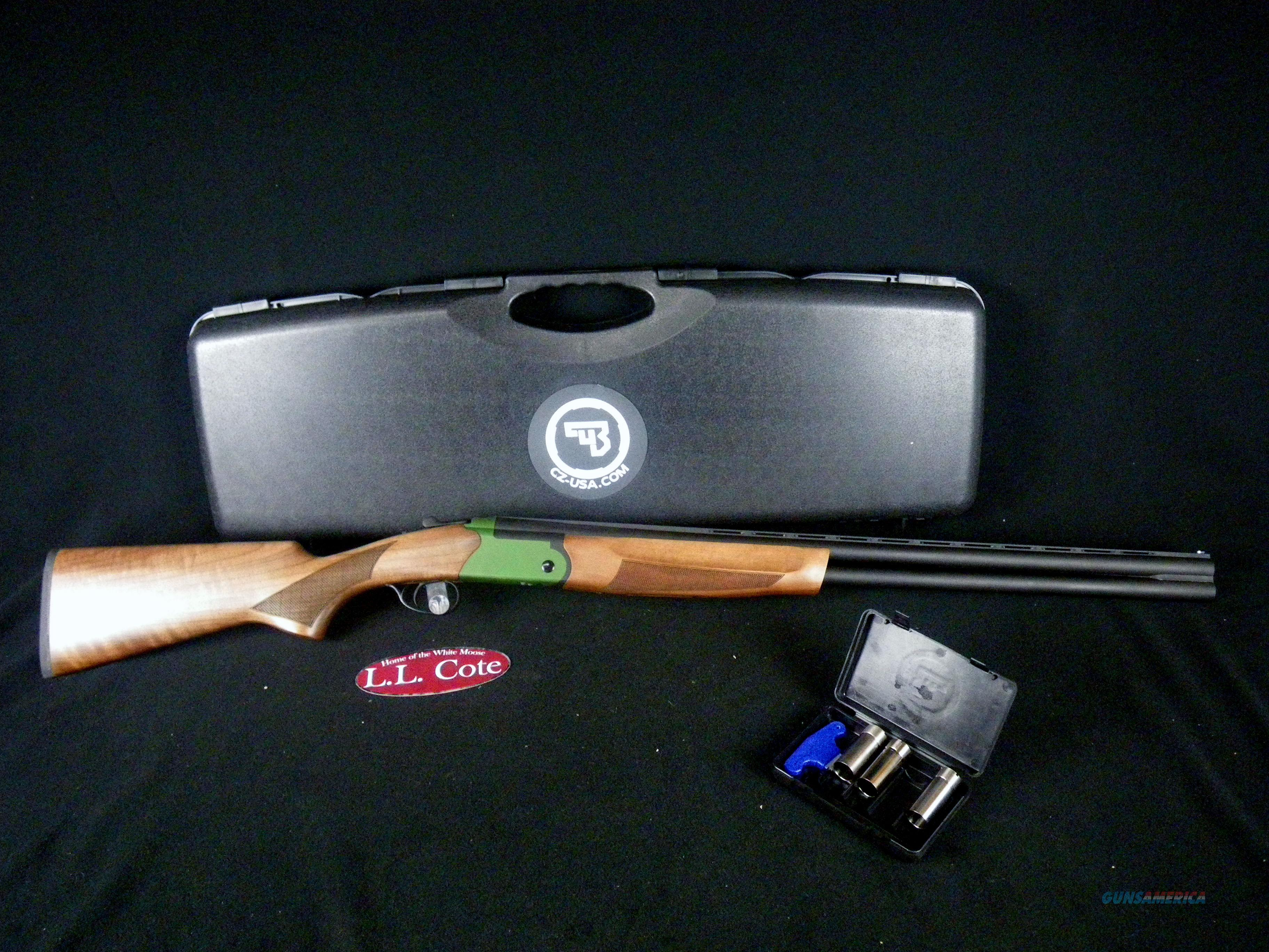 "CZ Upland Ultralight Green 12ga 28"" NEW 3"" 06480  Guns > Shotguns > CZ Shotguns"