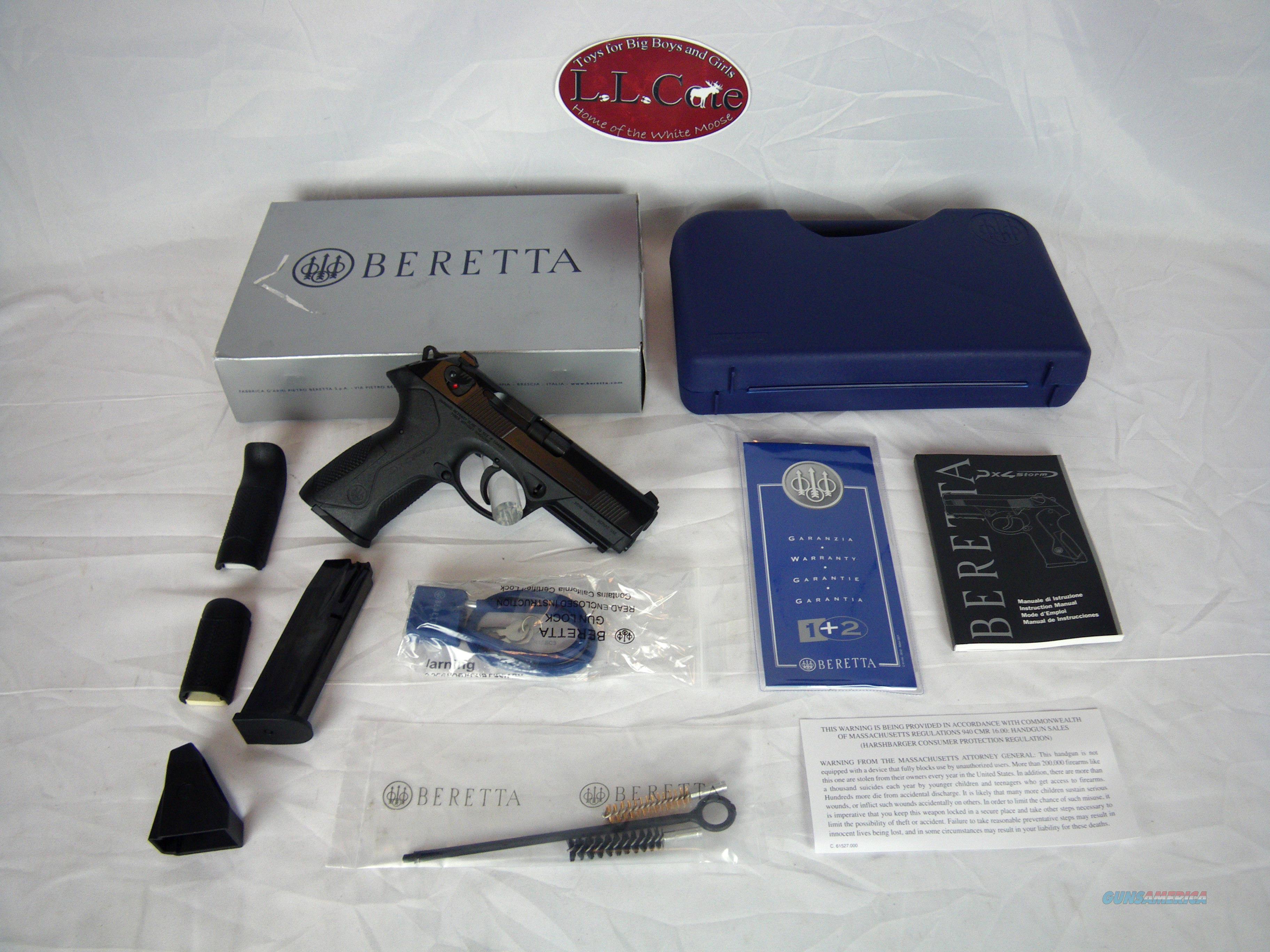"""Beretta PX4 Storm Full Size 40 S&W 3 3/4"""" #JXF4F21  Guns > Pistols > Beretta Pistols > Polymer Frame"""