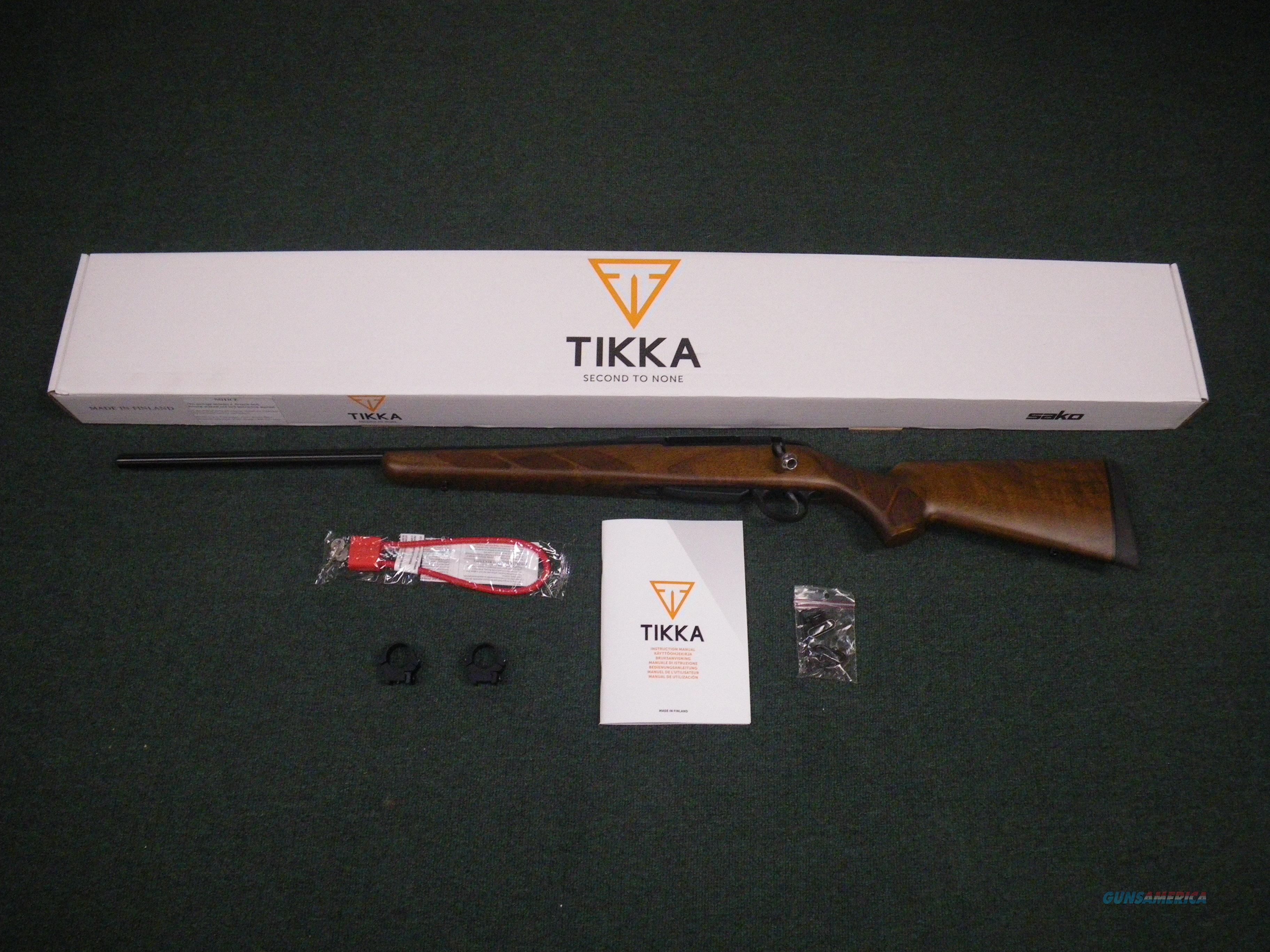 "Tikka T3 Hunter LH Wood 308 Win 22.4"" NEW JRTA316L  Guns > Rifles > Tikka Rifles > T3"