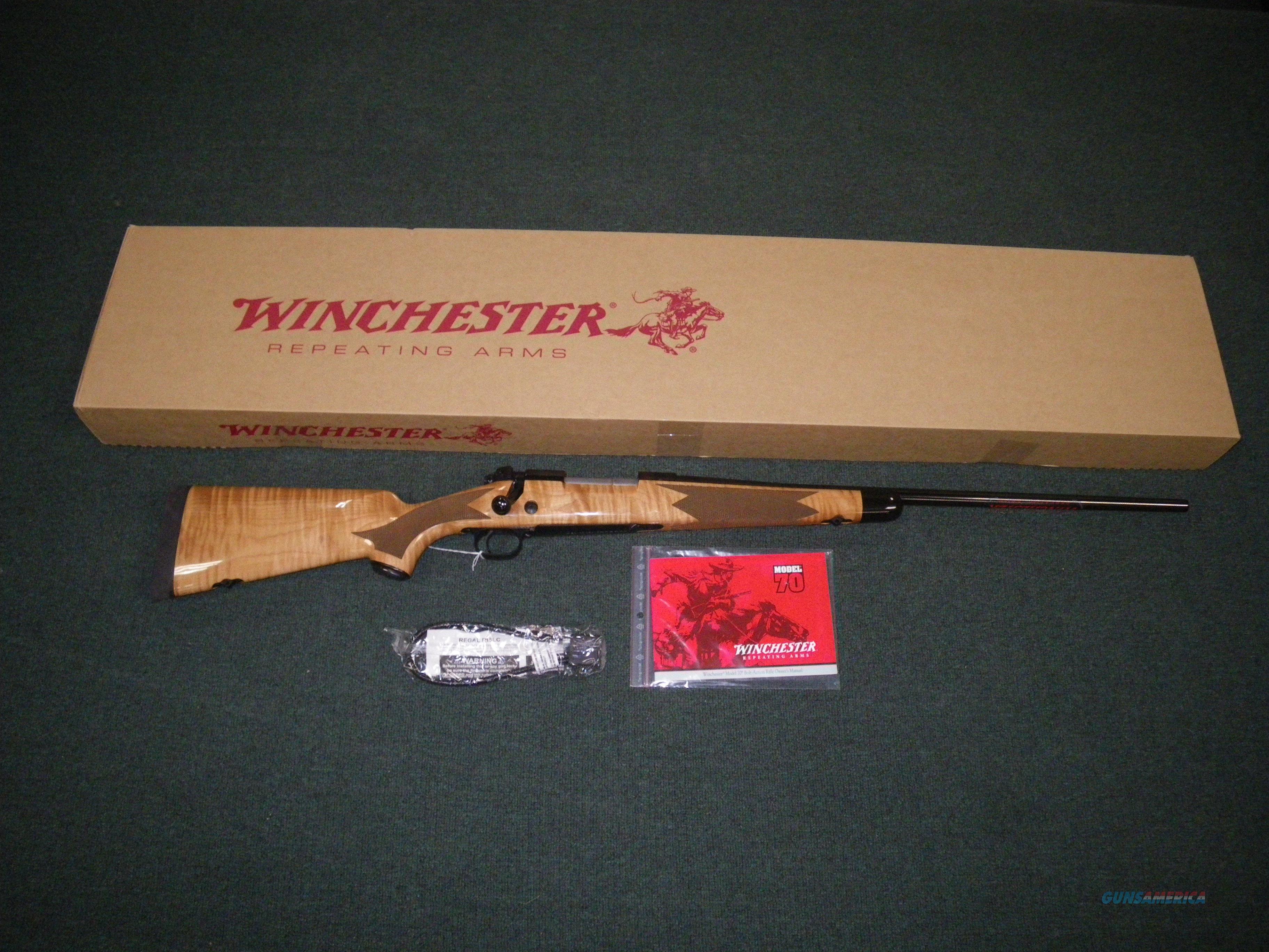"Winchester Model 70 Super Grade Maple 270 Win 24"" #535218226  Guns > Rifles > Winchester Rifles - Modern Bolt/Auto/Single > Model 70 > Post-64"