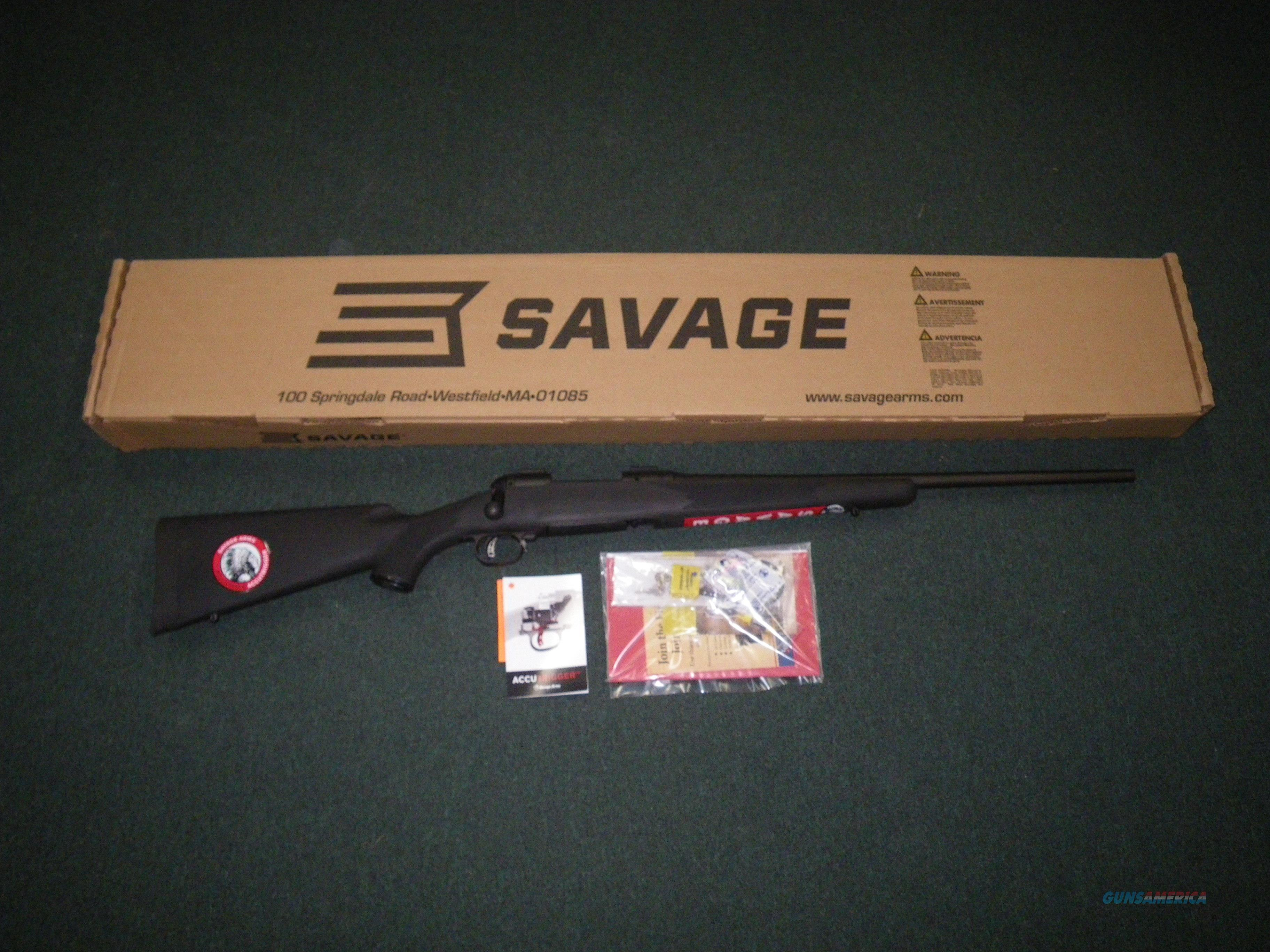 "Savage 11/111 FCNS Accutrigger 308 Win 22"" NEW #17826  Guns > Rifles > Savage Rifles > 11/111"