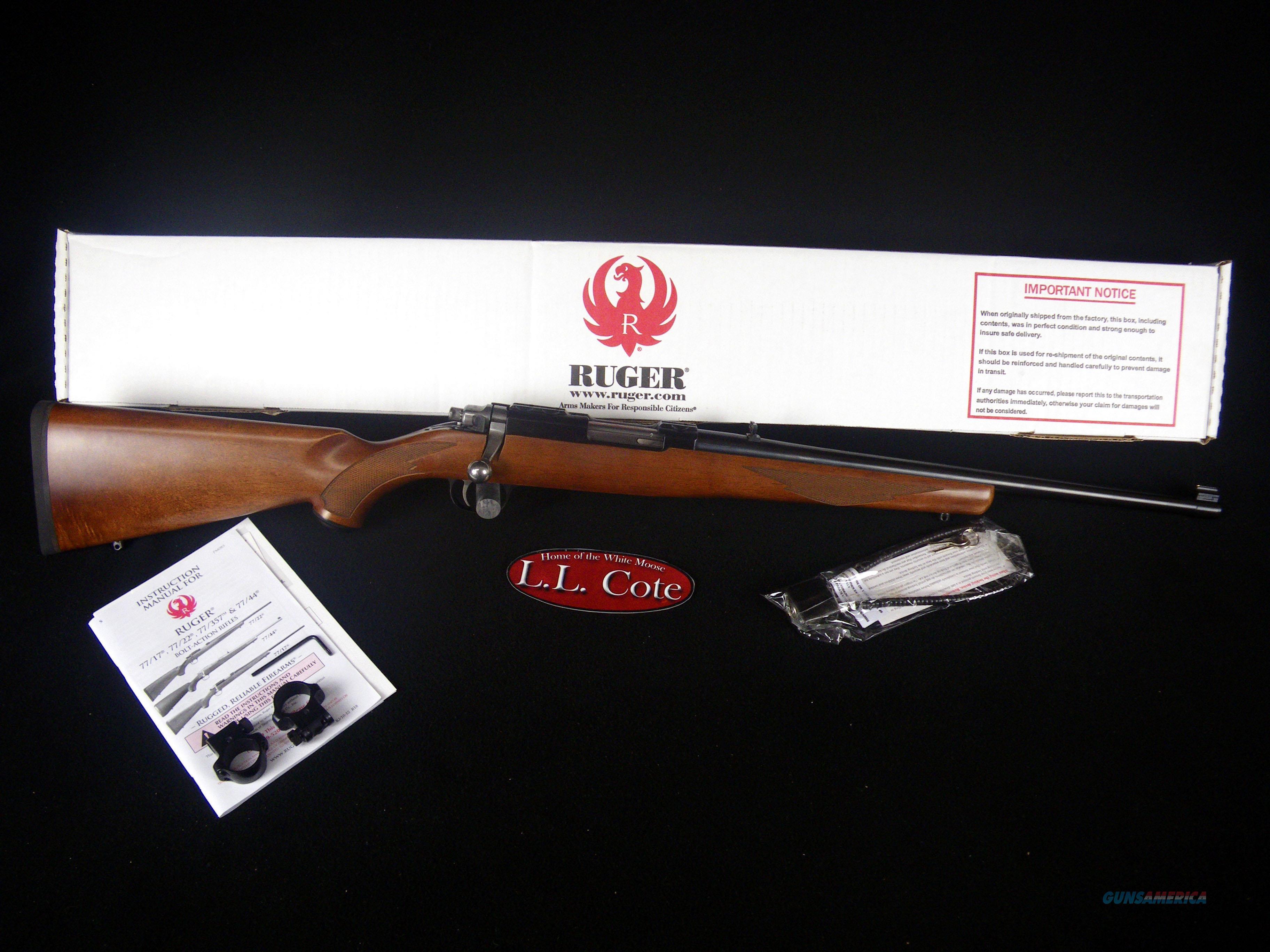 """Ruger 77/44 Wood/Blued 44 Rem Mag 18.5"""" NEW 7401  Guns > Rifles > Ruger Rifles > Model 77"""