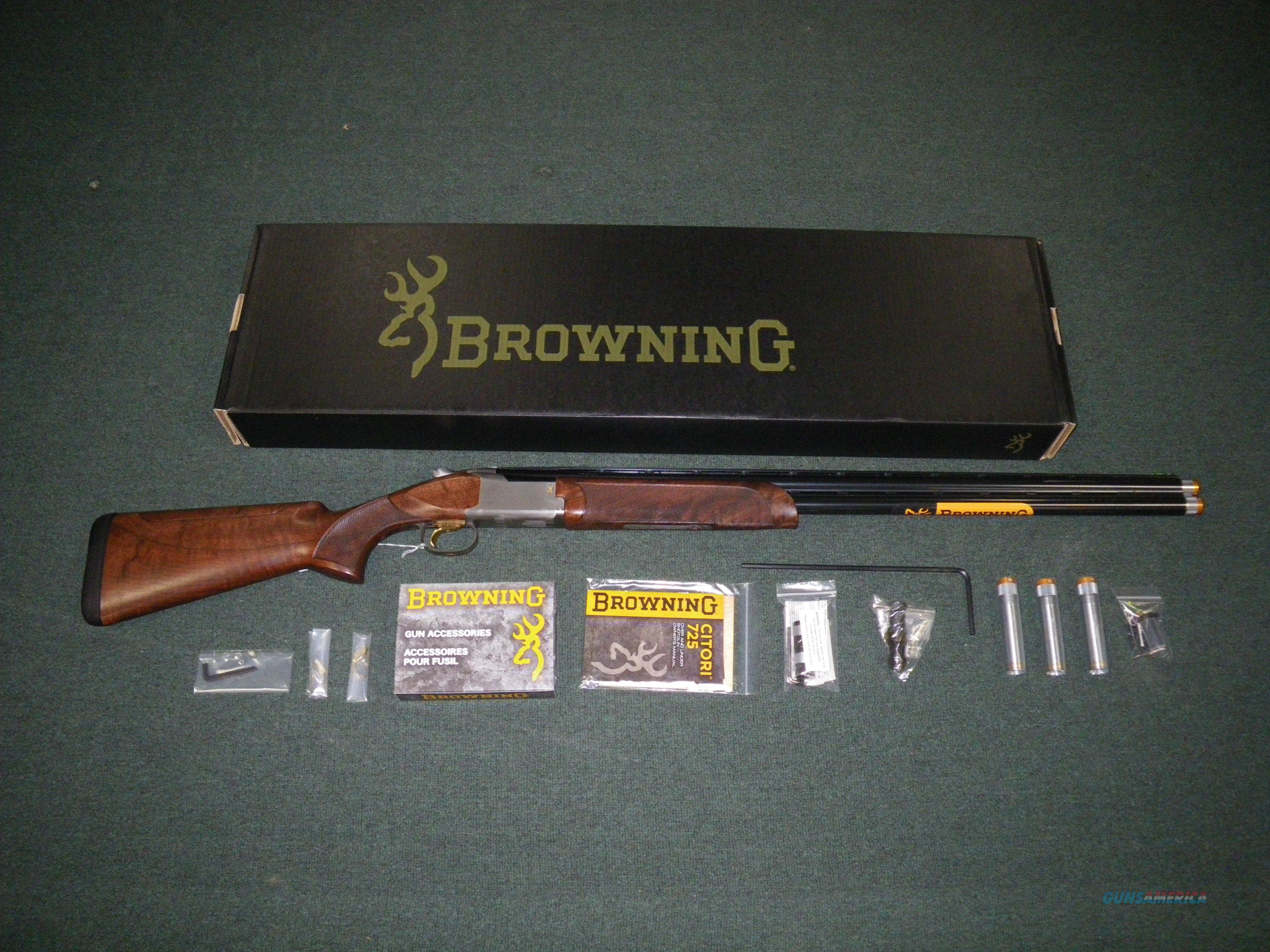 "Browning Citori 725 Sporting 12ga 30"" Adj Comb NEW #0135533010  Guns > Shotguns > Browning Shotguns > Over Unders > Citori > Hunting"