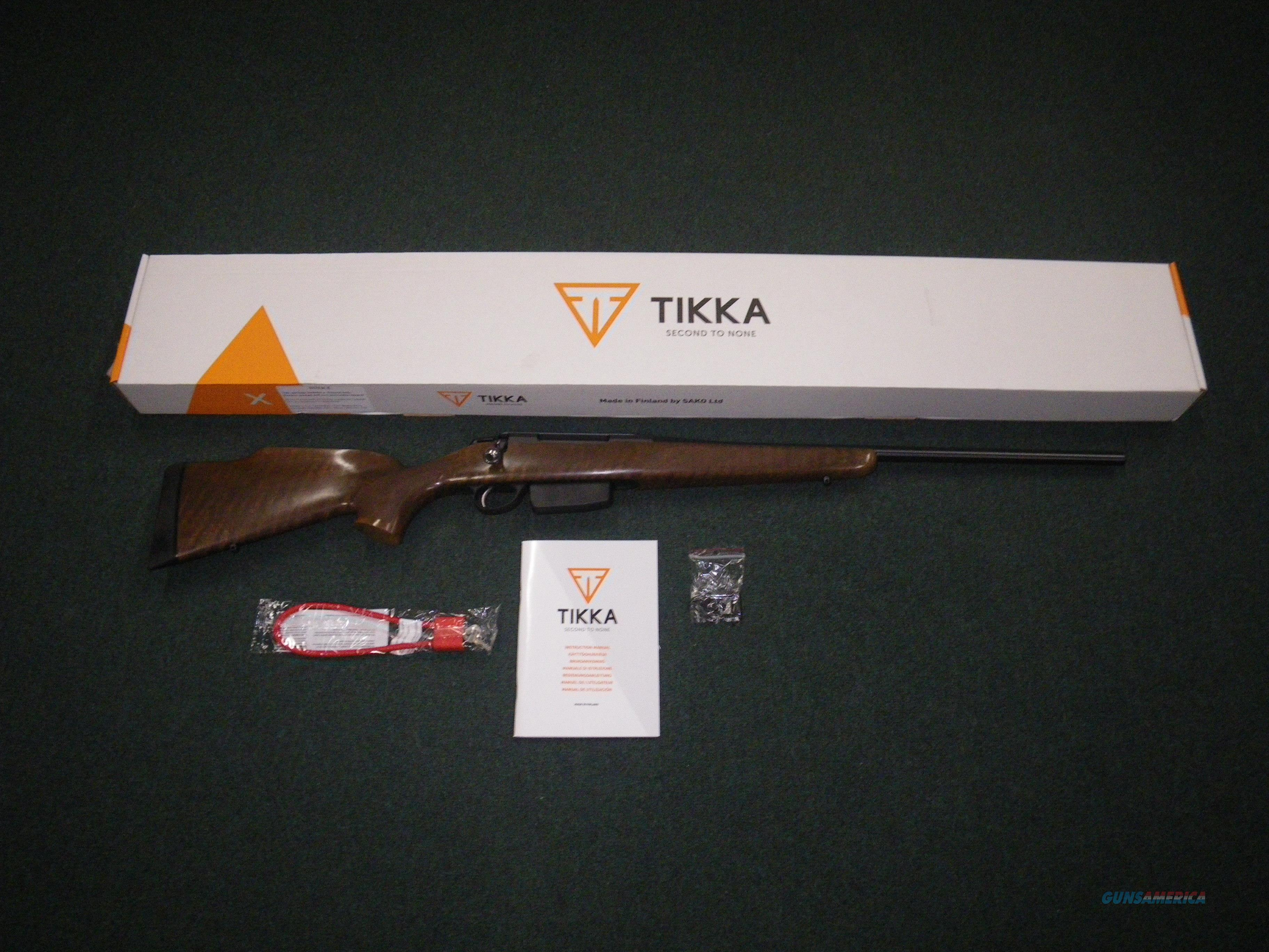 "Tikka T3x Forest Wood 300 Win Mag 22.4"" NEW JRTXF631  Guns > Rifles > Tikka Rifles > T3"
