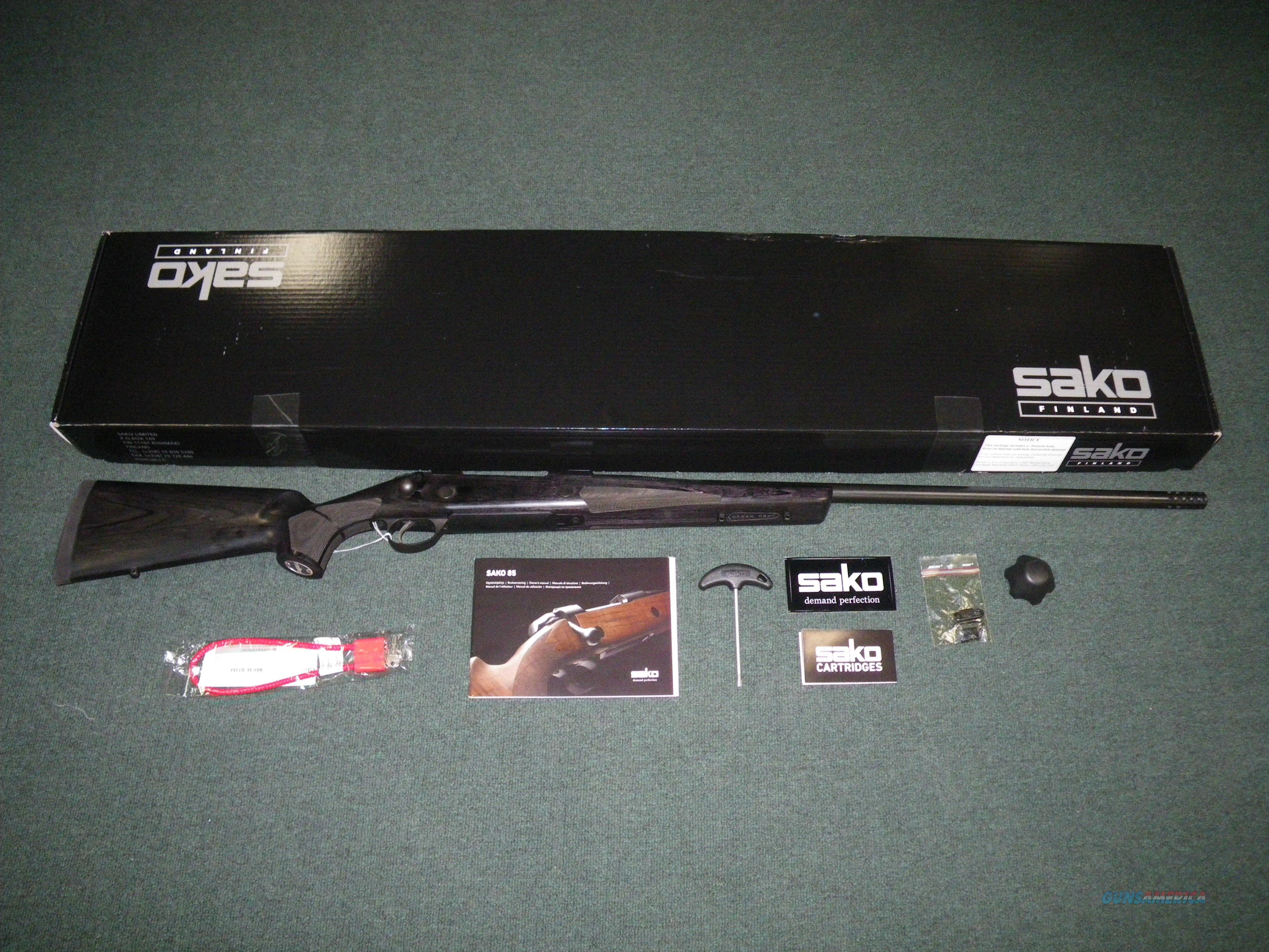 """Sako 85 Long Range 338 Lapua Mag 26"""" NEW Threaded #JRSLH44  Guns > Rifles > Sako Rifles > M85 Series"""