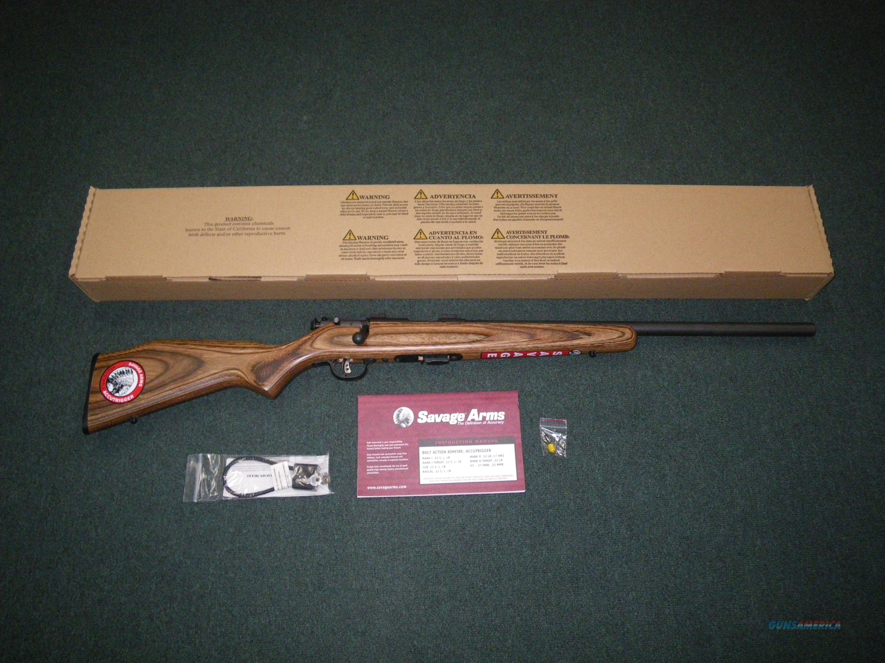 "Savage Mark II BV 22lr 21"" NEW Accutrigger #25700  Guns > Rifles > Savage Rifles > Accutrigger Models > Sporting"