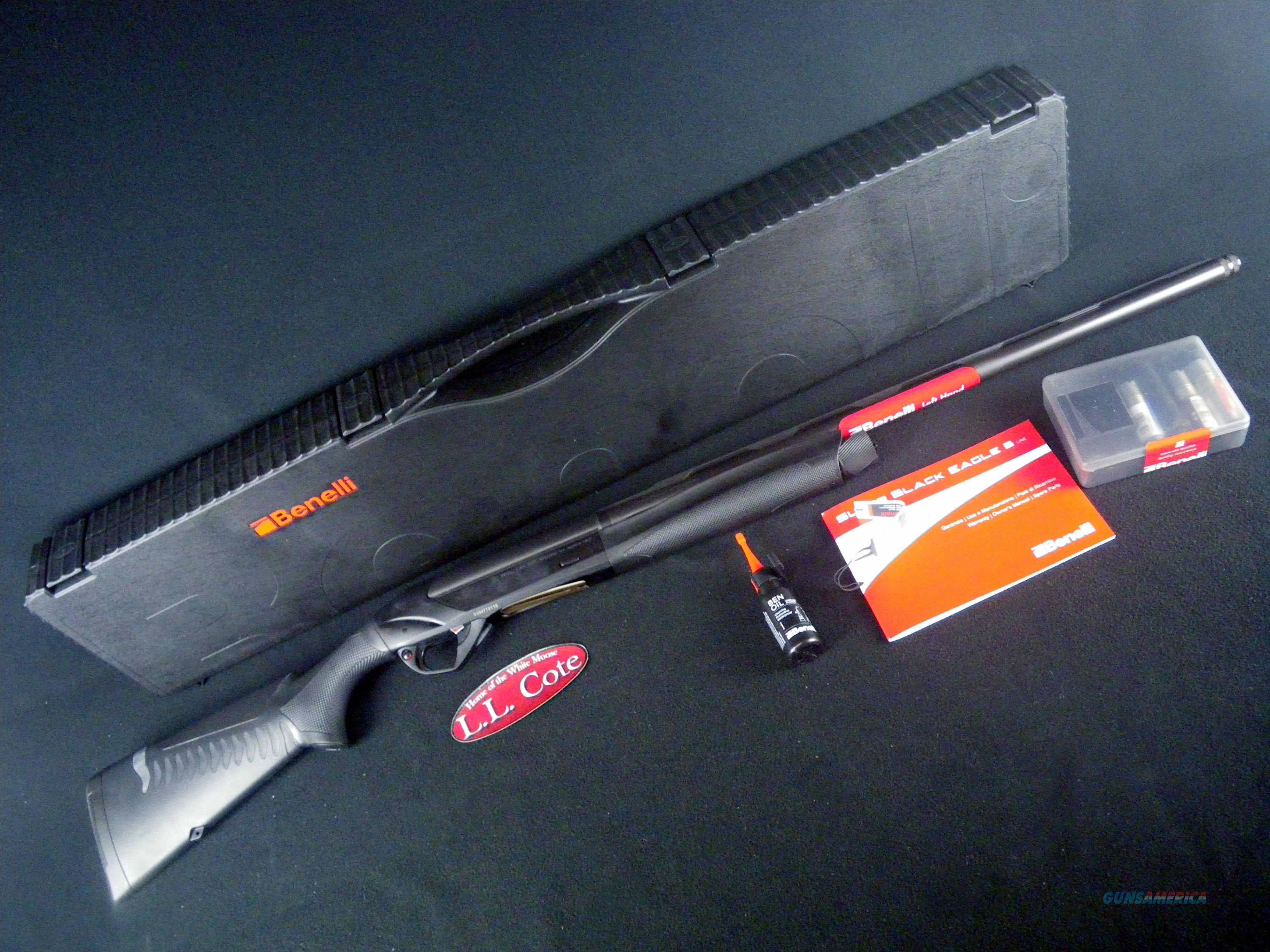 """Benelli Super Black Eagle 3 LH 12ga 26"""" NEW 10370  Guns > Shotguns > Benelli Shotguns > Sporting"""