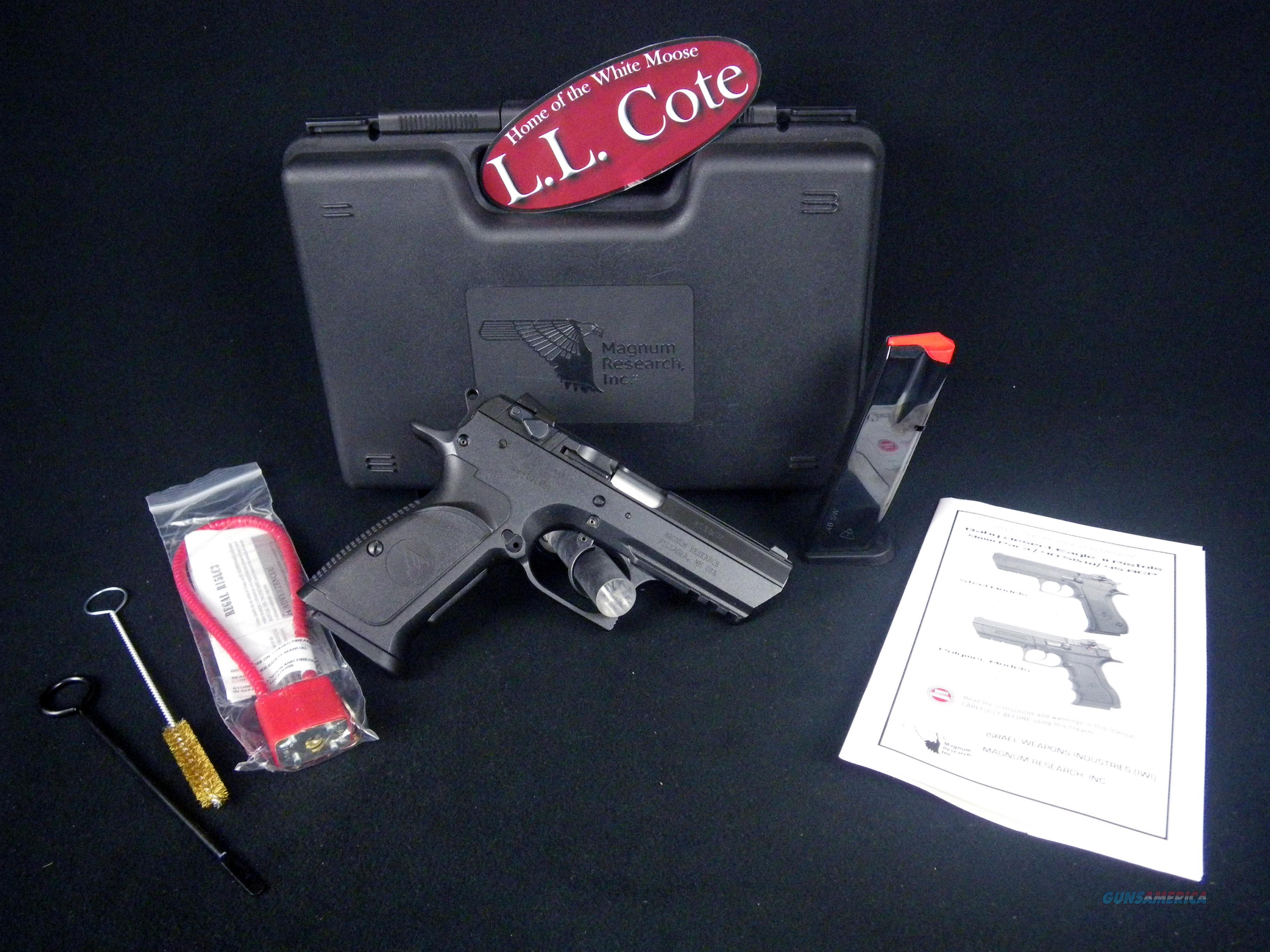 "Magnum Research Baby Desert Eagle III 40S&W 4.43"" NEW BE94133RS  Guns > Pistols > Magnum Research Pistols"