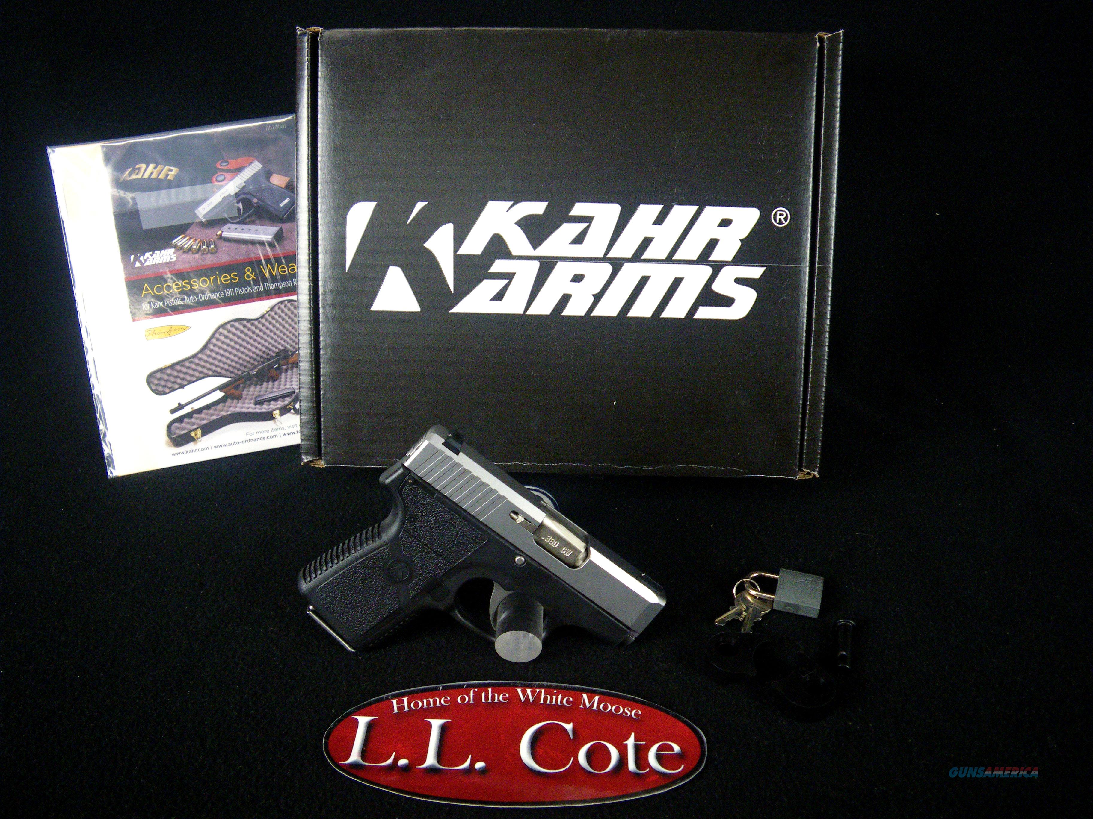 "Kahr CW380 Stainless/Syn 380ACP 2.58"" NEW CW3833  Guns > Pistols > Kahr Pistols"