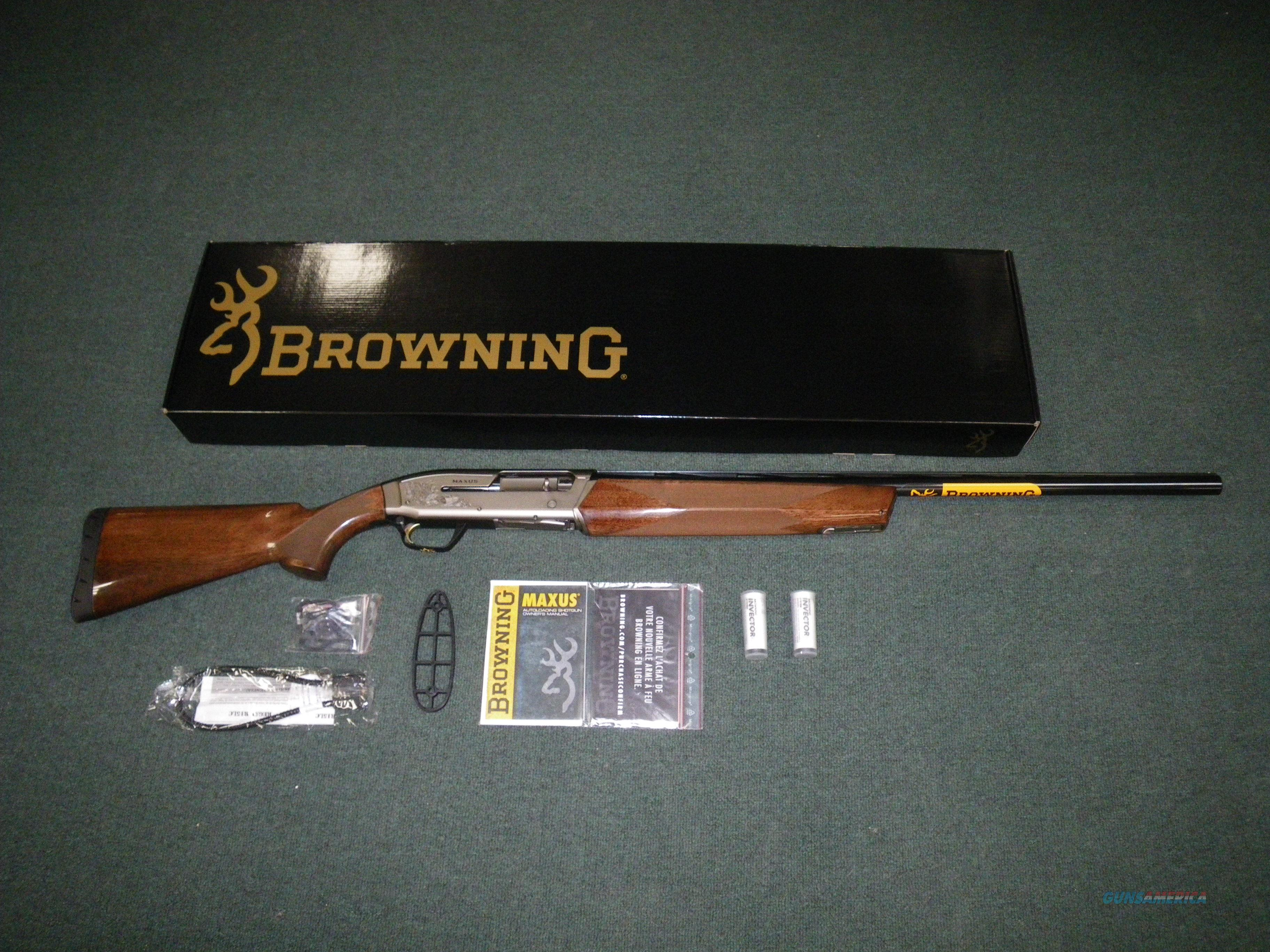 "Browning Maxus Hunter 12ga 28"" 3.5"" Chamber NEW #011608204  Guns > Shotguns > Browning Shotguns > Autoloaders > Hunting"