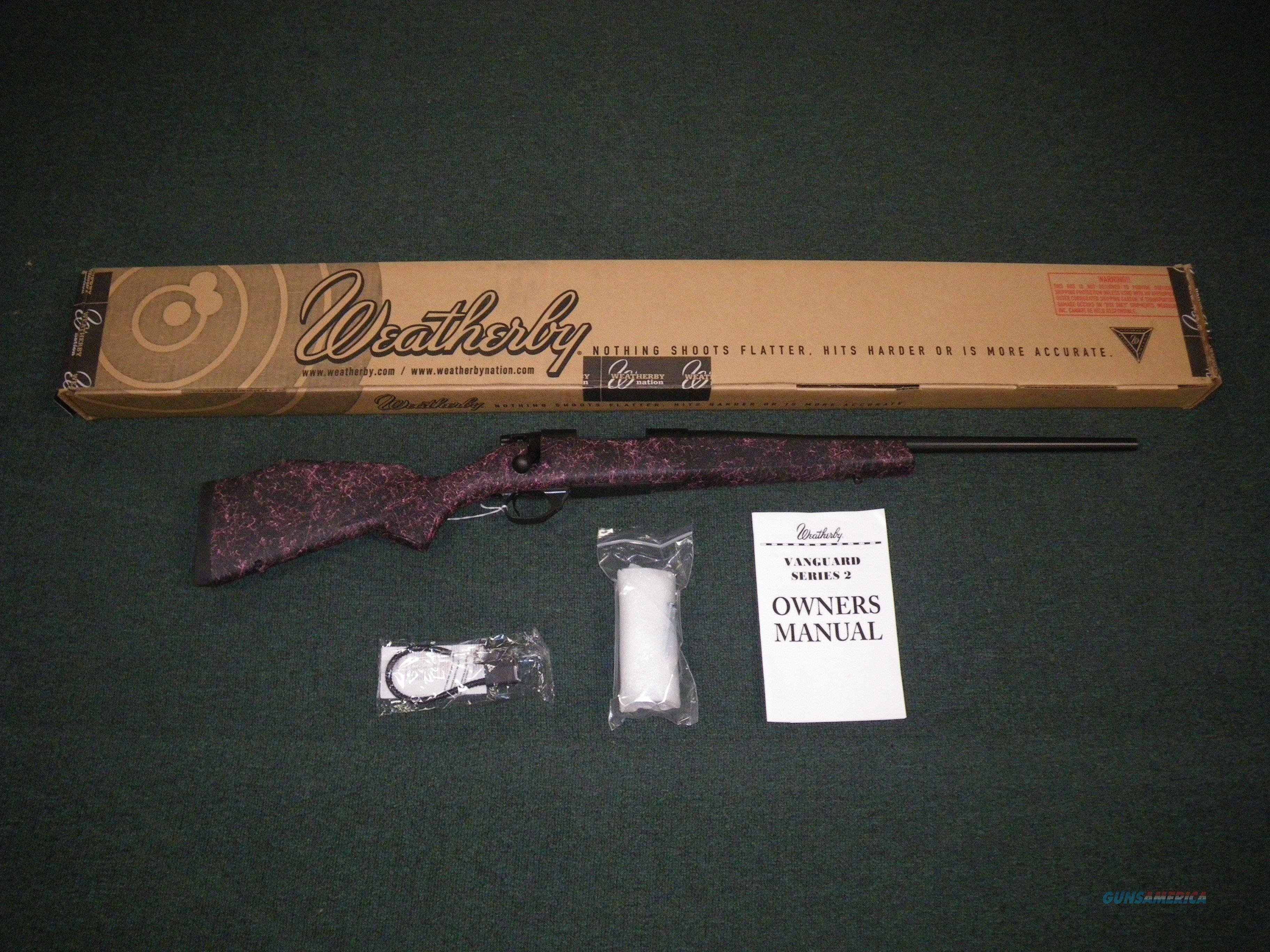 "Weatherby Vanguard GH2 Girls Hunt 2 243 Win 20"" #VYP243NR0O  Guns > Rifles > Weatherby Rifles > Sporting"