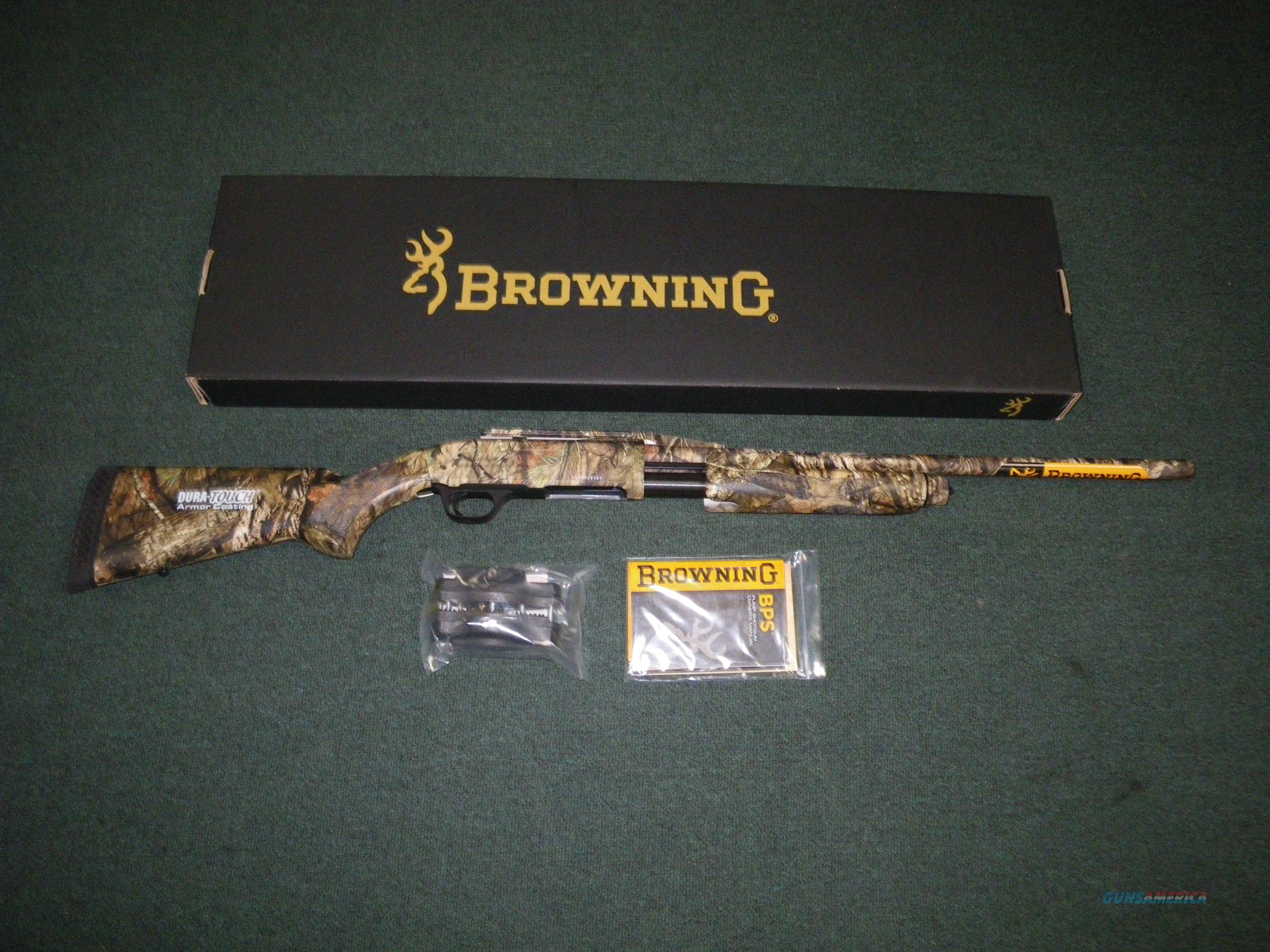 "Browning BPS Rifled Deer MOBU Country 12ga 22"" NEW #012281324  Guns > Shotguns > Browning Shotguns > Pump Action > Hunting"