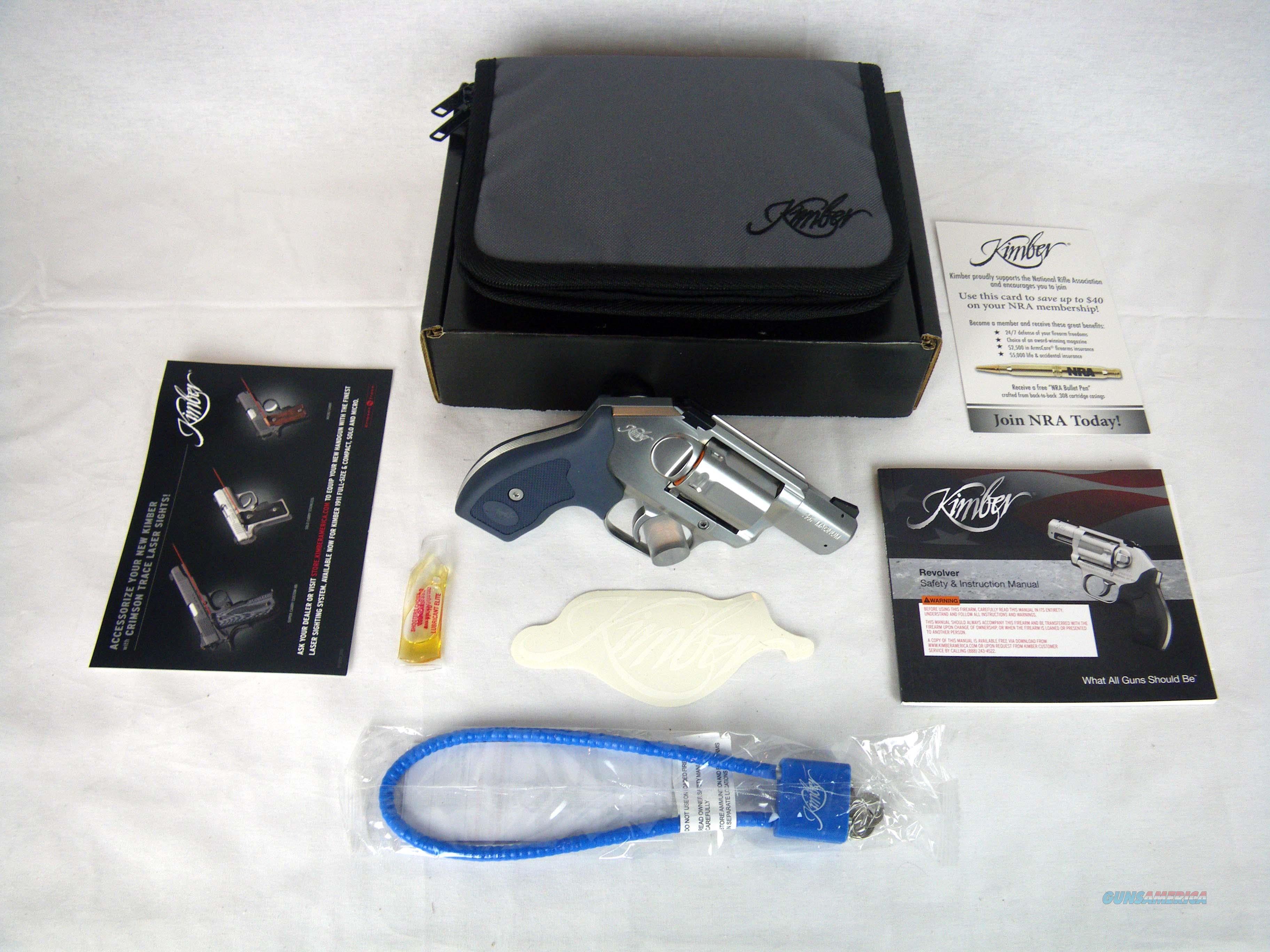 """Kimber K6S Stainless Revolver 357Mag 2"""" NEW 3400002  Guns > Pistols > Kimber of America Pistols > Revolvers"""