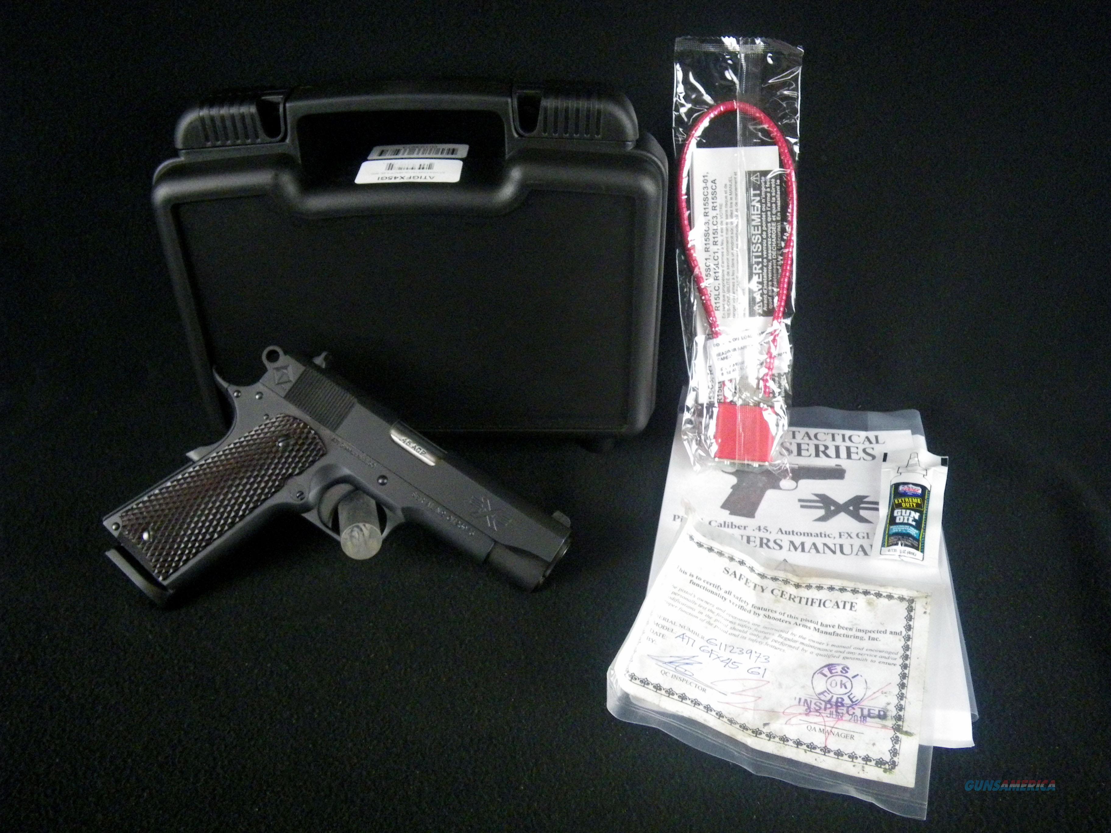 "ATI GI 1911 Firepower Xtreme 45ACP 4.25"" Wood NEW ATIGFX45GI  Guns > Pistols > American Tactical Imports Pistols"