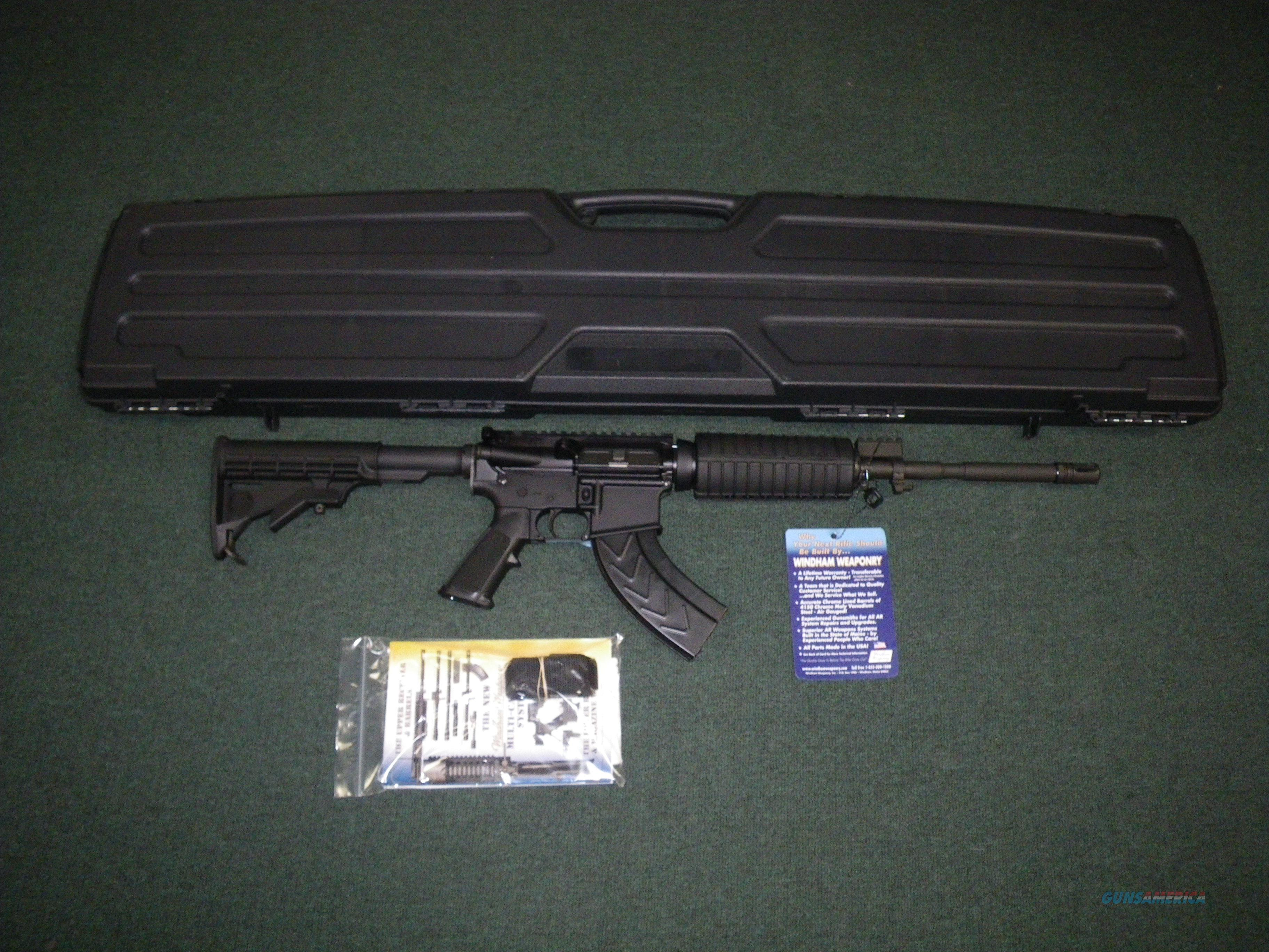 "Windham Weaponry 7.62x39 SRC 16"" NEW #R16M4FTT-762  Guns > Rifles > Windham Weaponry Rifles"