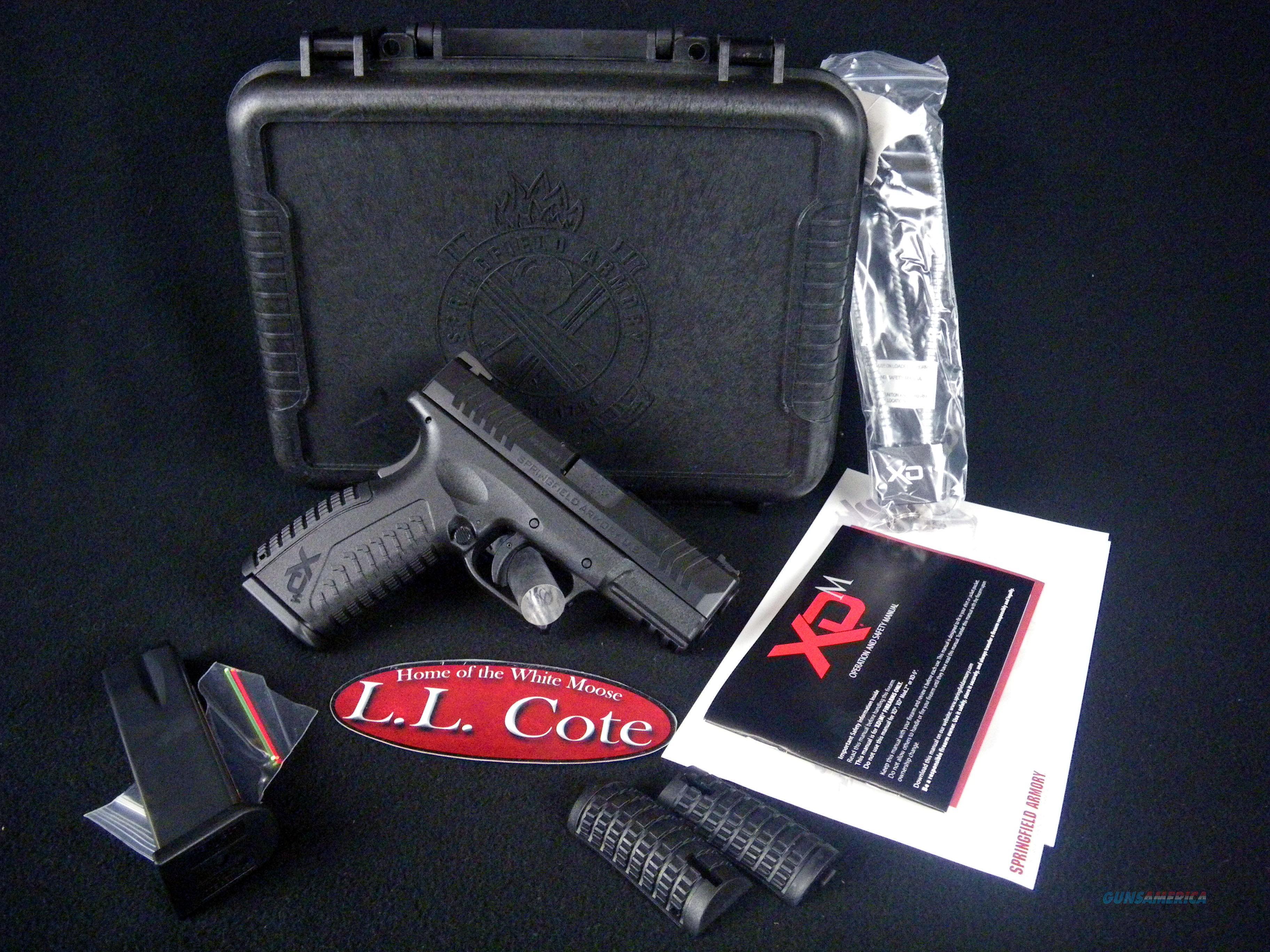 "Springfield XDM Full Size Black 40S&W 3.8"" NEW XDM9384BHCE  Guns > Pistols > Springfield Armory Pistols > XD-M"