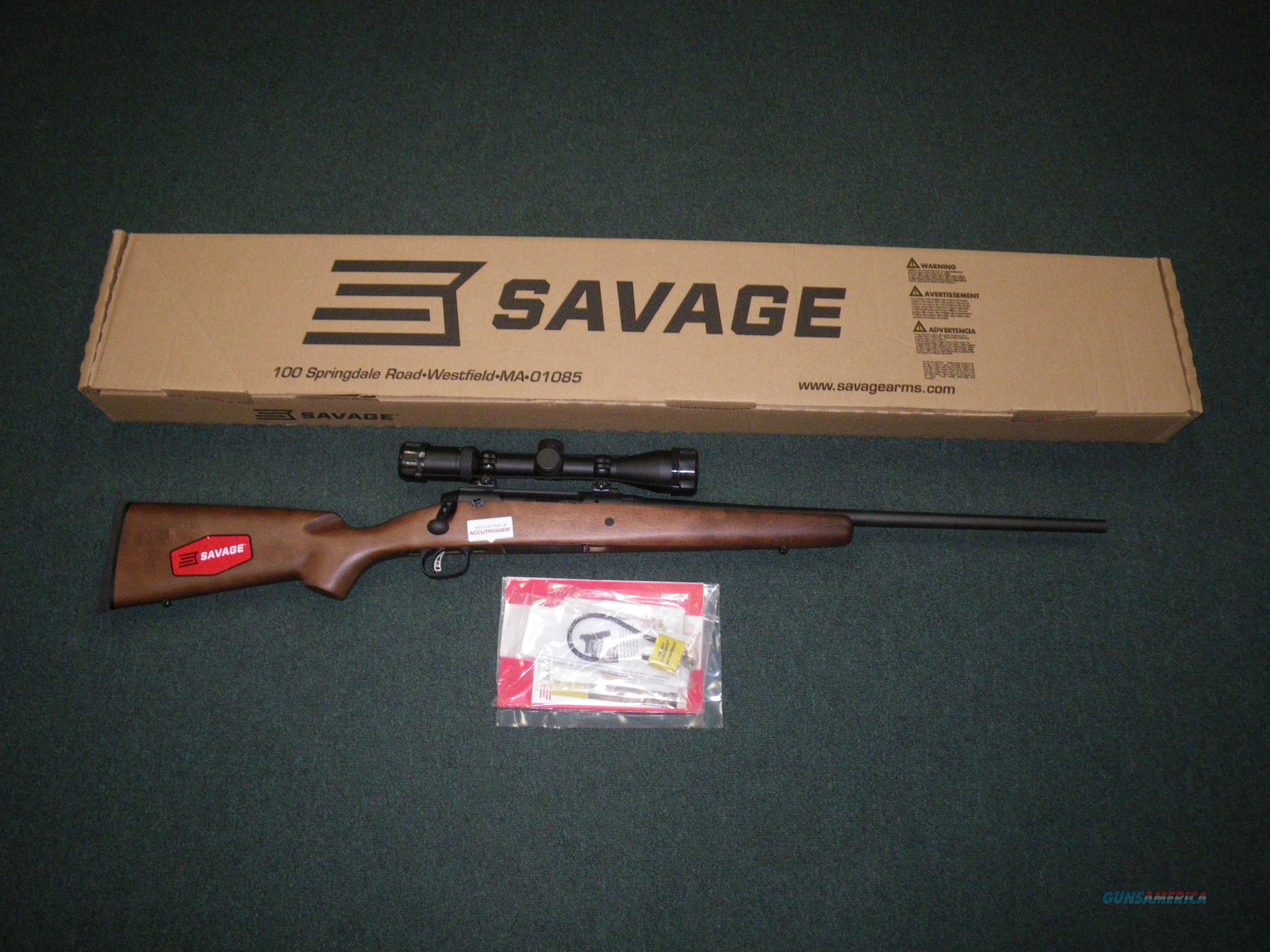 "Savage Axis II XP Hardwood 243 Win 22"" NEW Scoped #22551  Guns > Rifles > Savage Rifles > Axis"