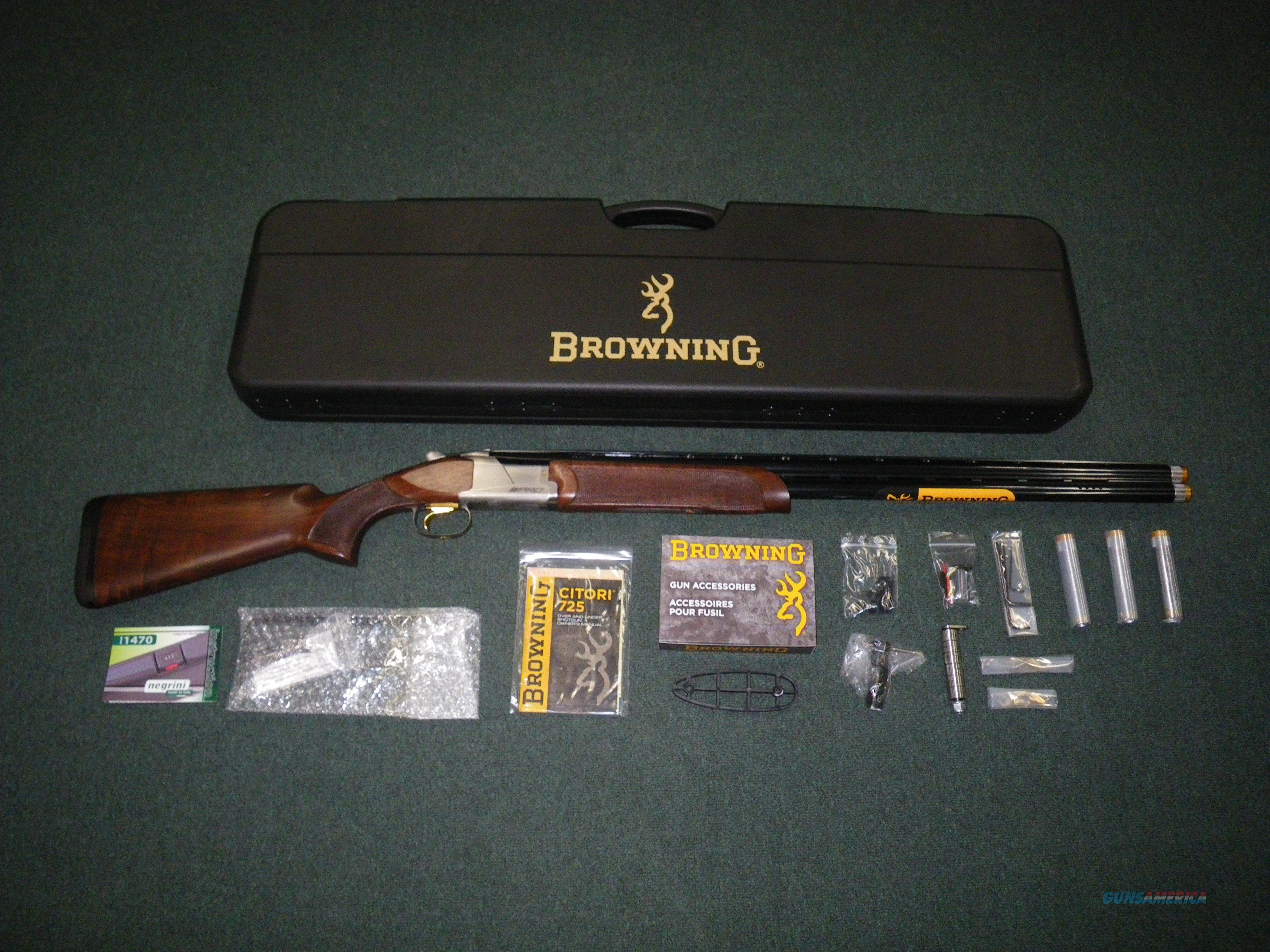 "Browning Citori 725 Pro Sporting 12ga 32"" NEW #0180024009  Guns > Shotguns > Browning Shotguns > Over Unders > Citori > Hunting"