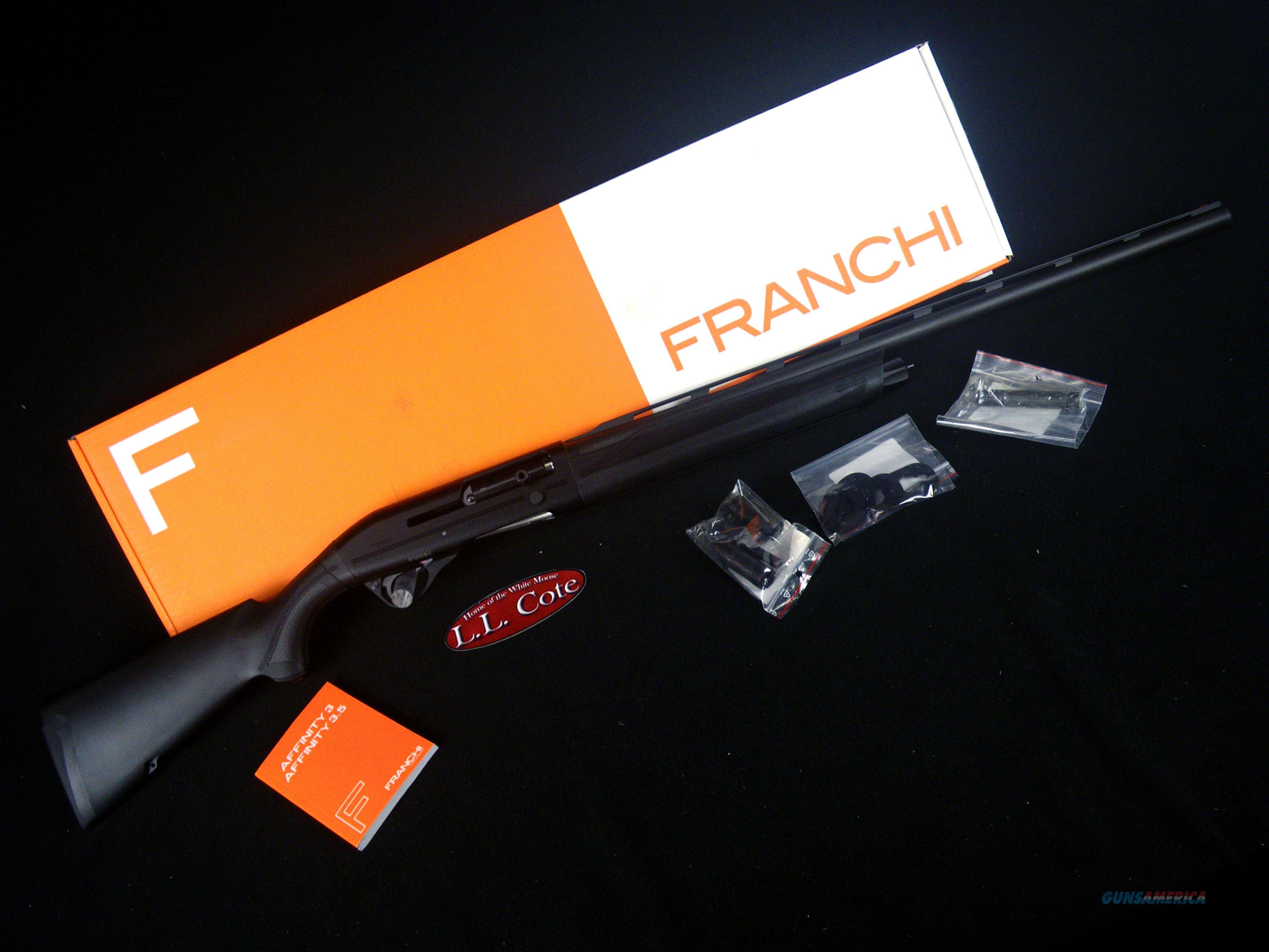 "Franchi Affinity 3.5 Synthetic 12ga 28"" NEW 3.5"" 41095  Guns > Shotguns > Franchi Shotguns > Auto Pump > Hunting"