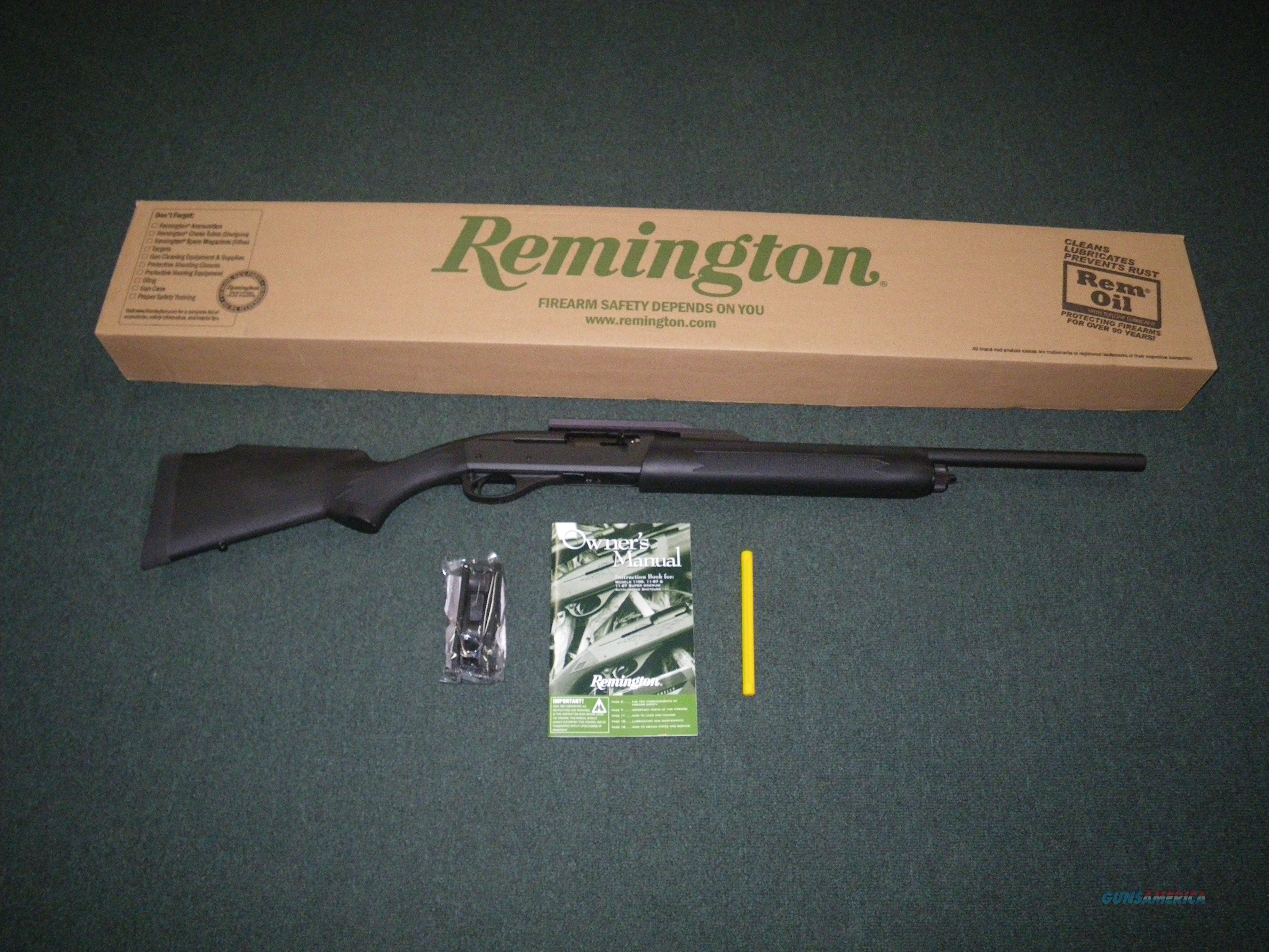 "Remington Model 11-87 Sportsman 20ga Slug 21"" NEW #29877  Guns > Shotguns > Remington Shotguns  > Autoloaders > Hunting"