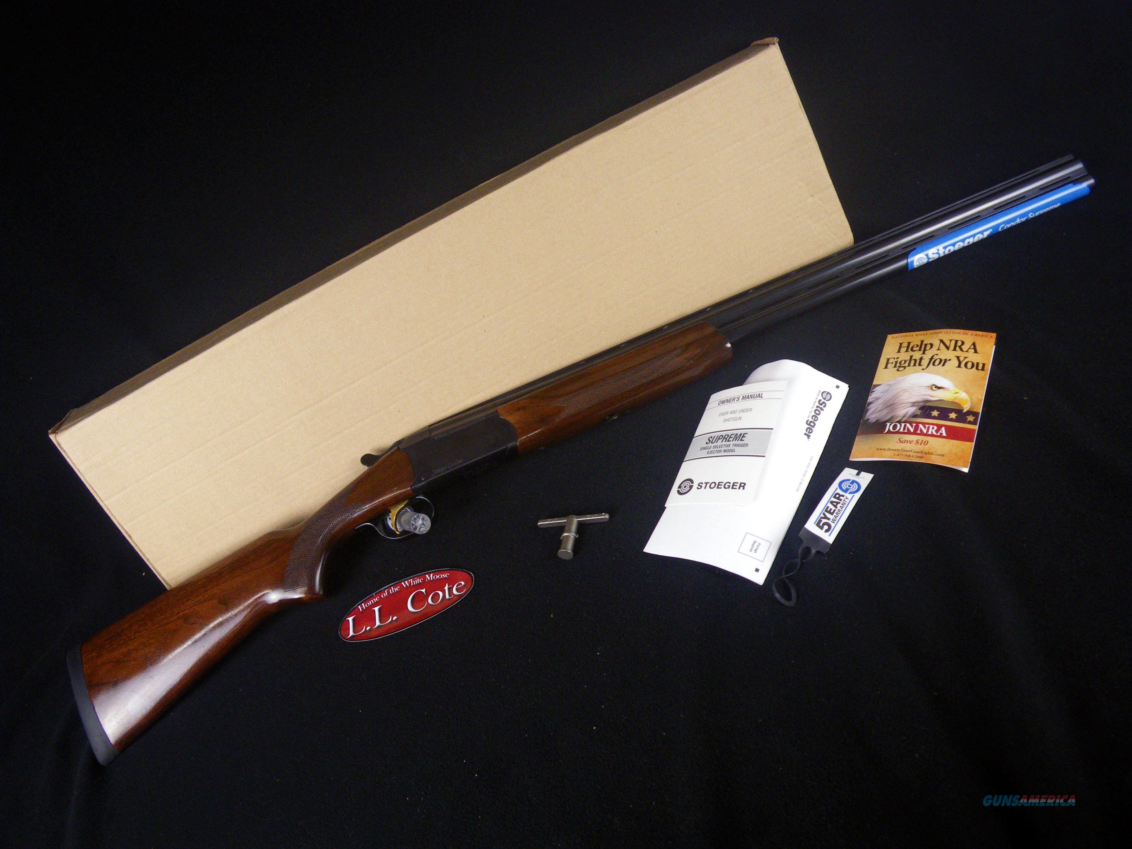 "Stoeger Condor Supreme Gloss 20ga 28"" NEW 31020  Guns > Shotguns > Stoeger Shotguns"