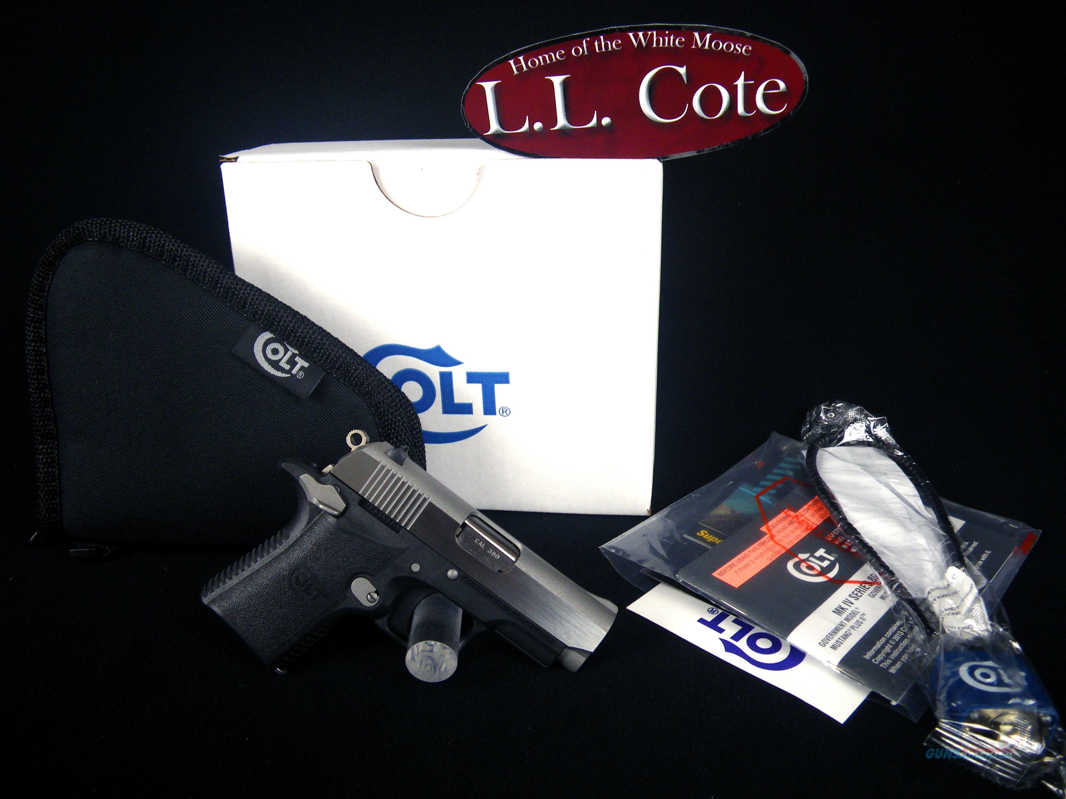 "Colt .380 Mustang 380ACP 2-3/4"" Polymer NEW O6796  Guns > Pistols > Colt Automatic Pistols (1911 & Var)"