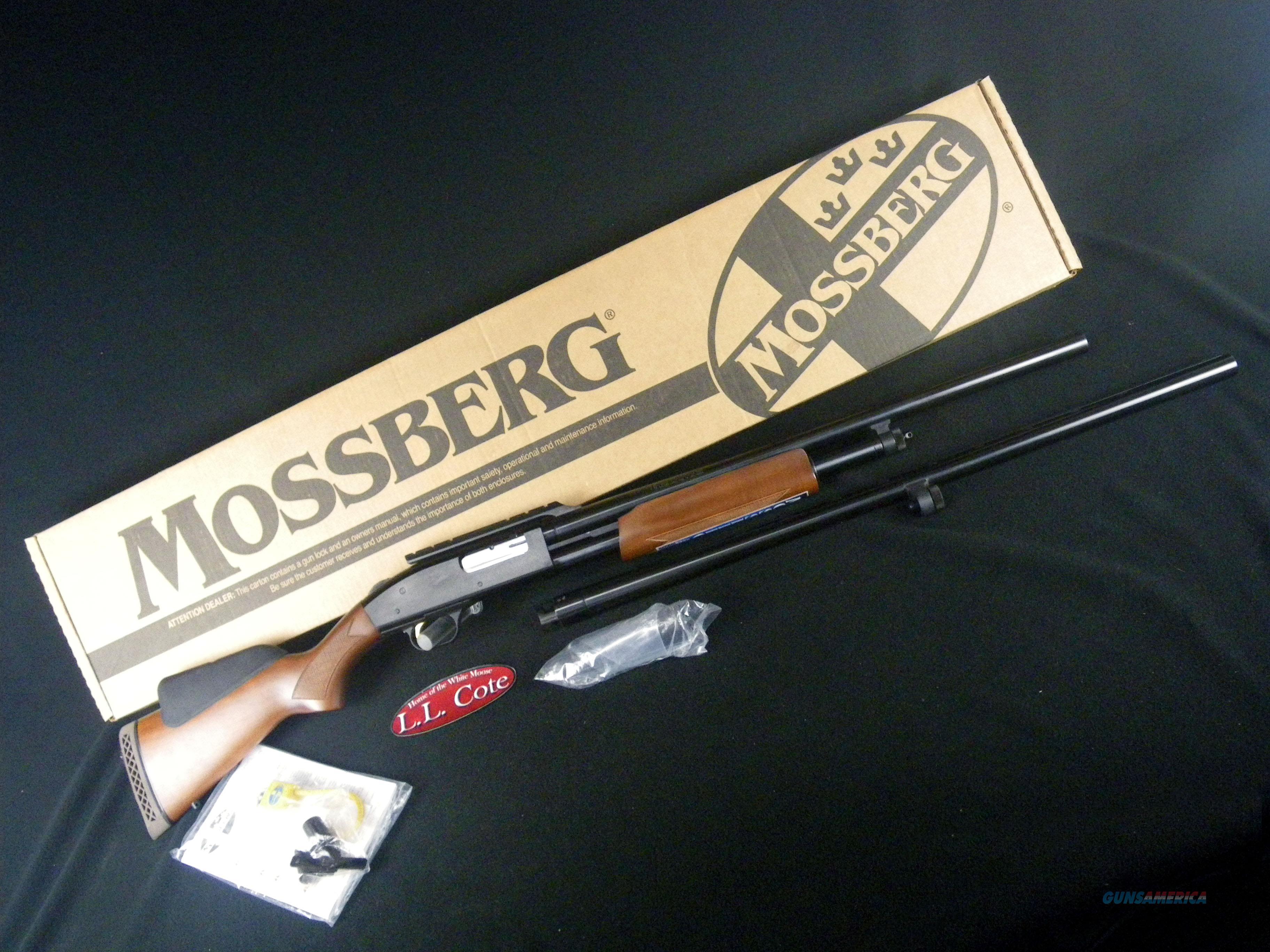 """Mossberg 500 Combo Field/Deer 12ga 24""""/28"""" NEW 3"""" 54243  Guns > Shotguns > Mossberg Shotguns > Pump > Sporting"""