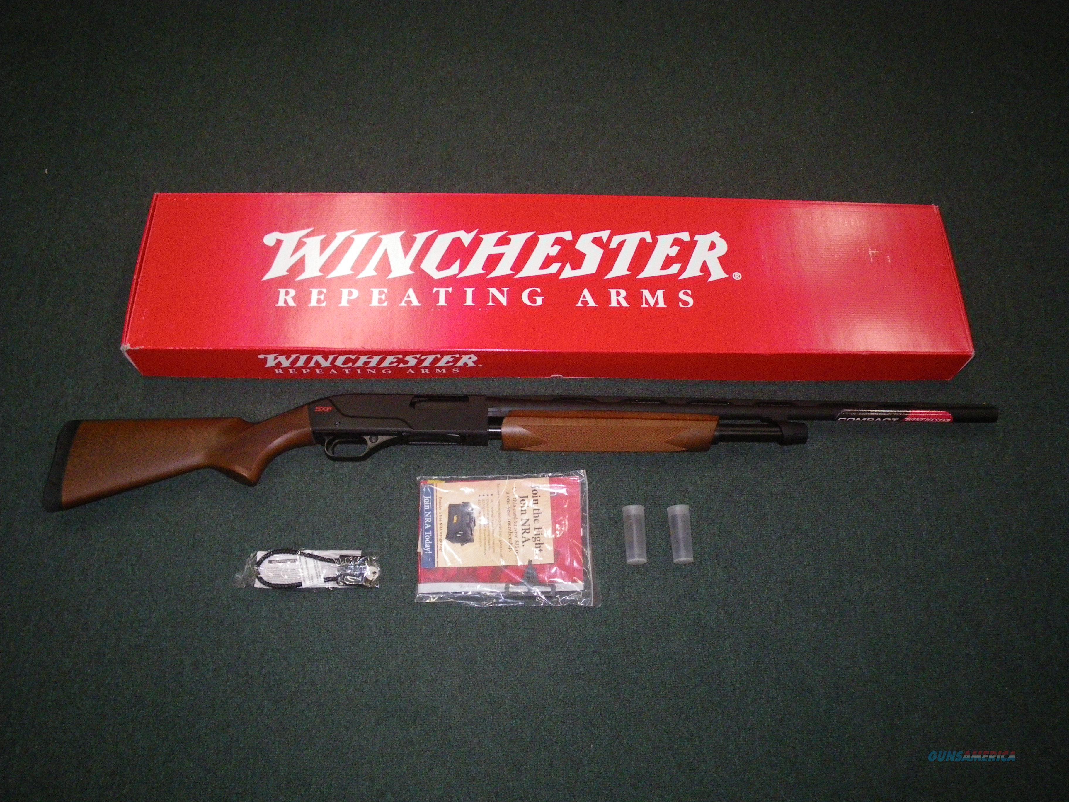 """Winchester SXP Field Compact 20ga 24"""" NEW 3"""" Chmbr #512271690  Guns > Shotguns > Winchester Shotguns - Modern > Pump Action > Hunting"""