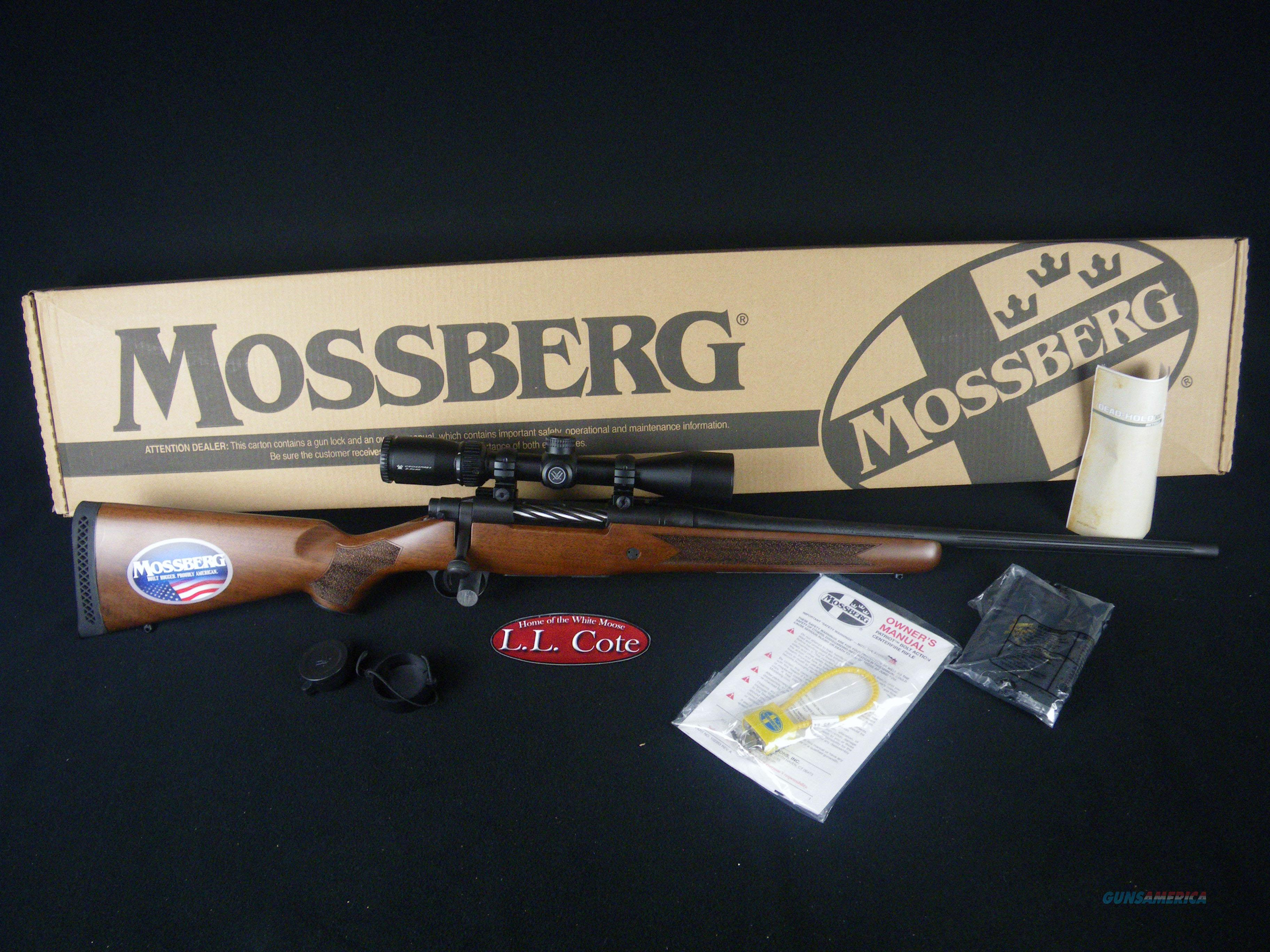 "Mossberg Patriot W/Scope 243 Win 22"" NEW 27939  Guns > Rifles > Mossberg Rifles > Patriot"