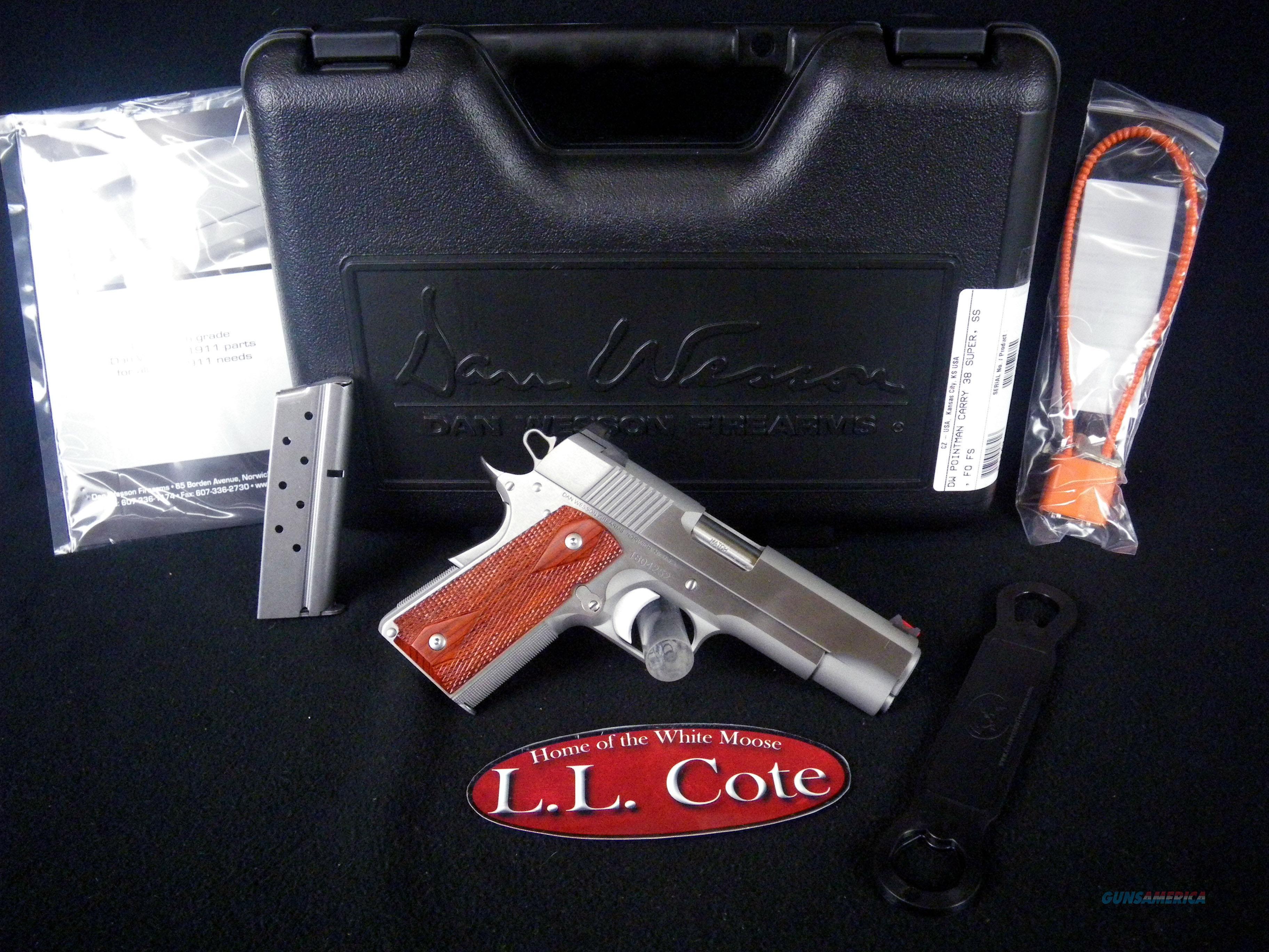 "CZ Dan Wesson Pointman 38 Super 4.25"" NEW 01842  Guns > Pistols > CZ Pistols"