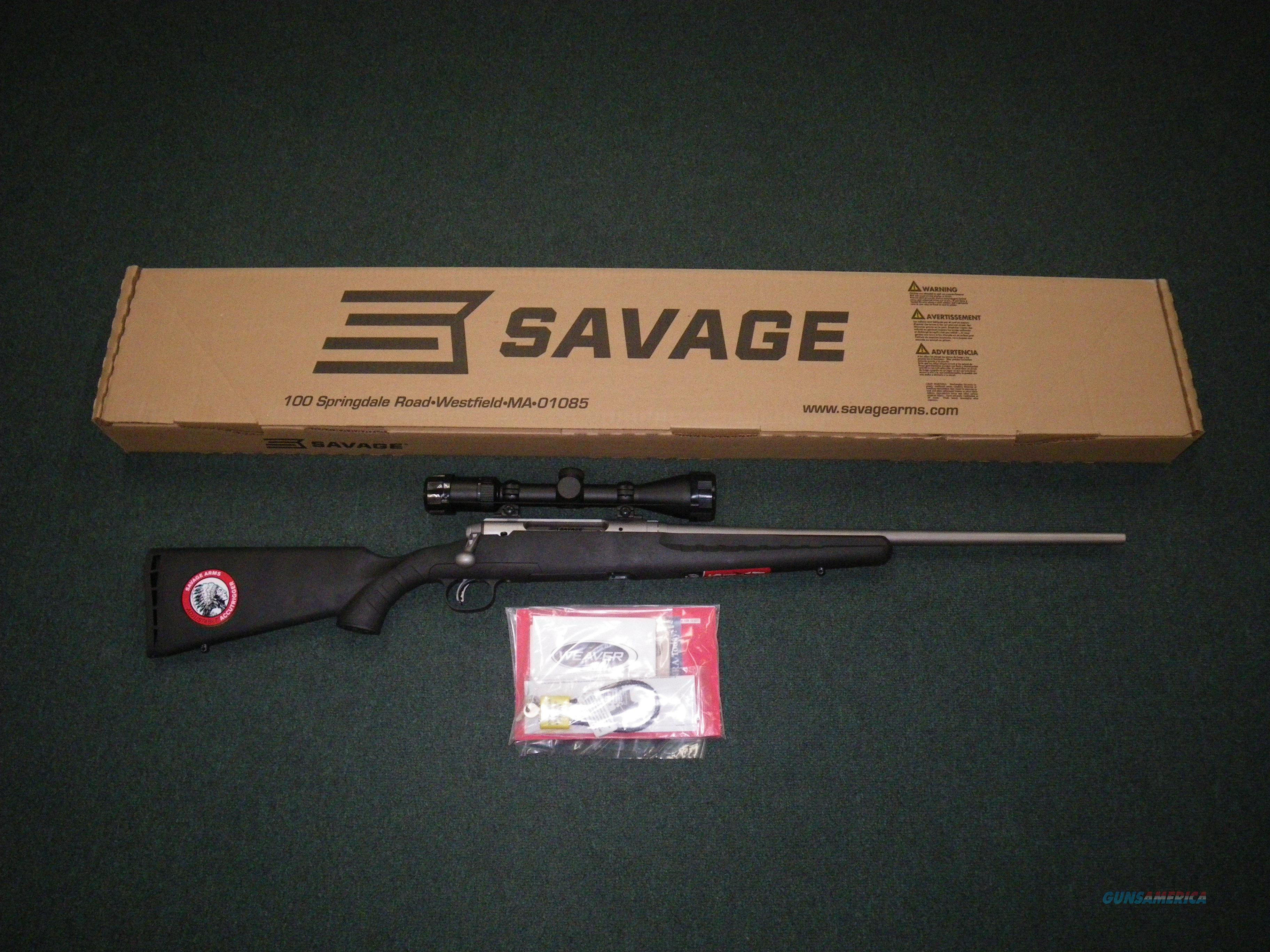 "Savage Axis II XP Stainless 30-06 22"" NEW Scoped #22548  Guns > Rifles > Savage Rifles > Axis"
