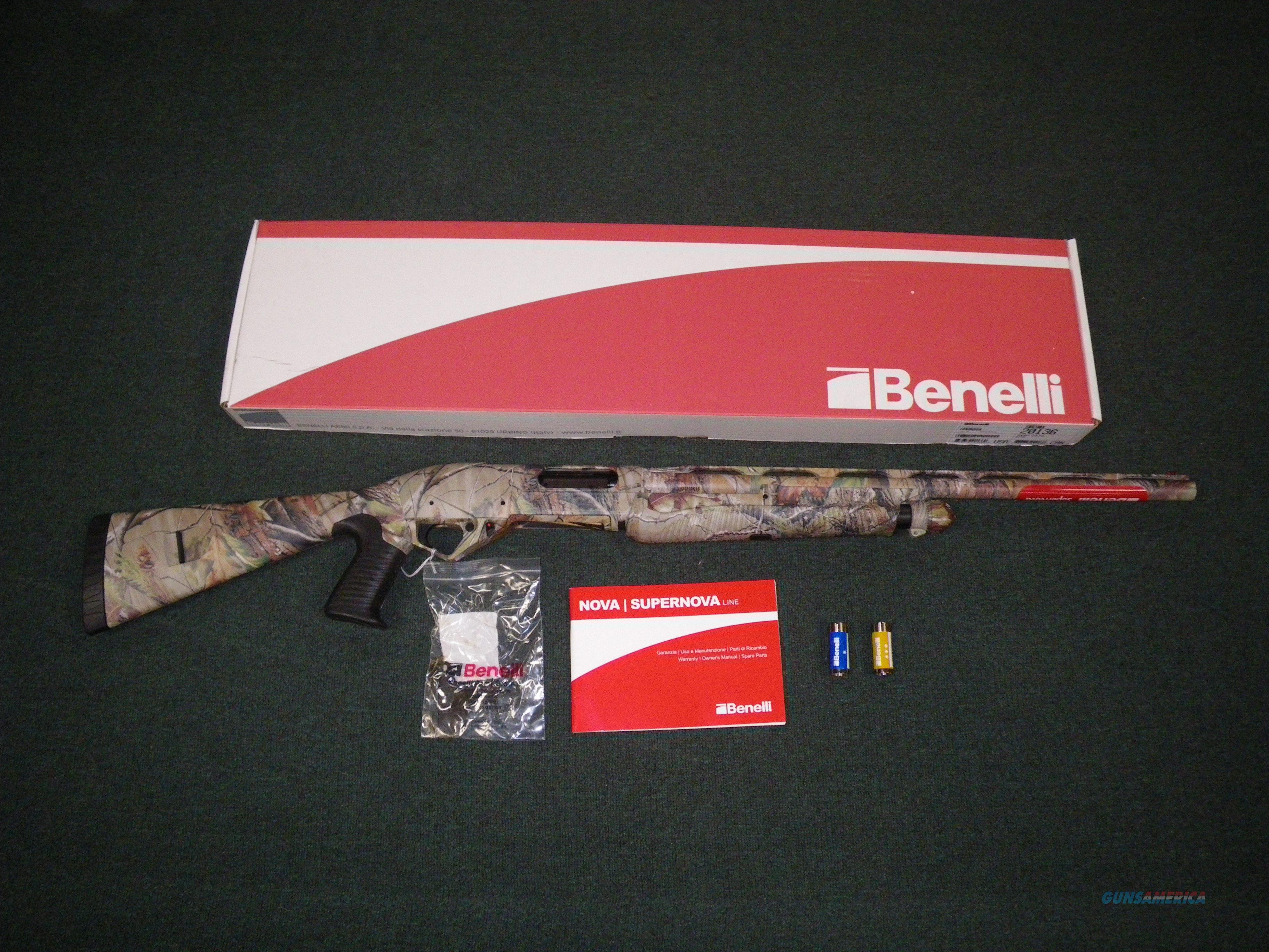 """Benelli SuperNova Realtree APG SteadyGrip 12ga 24"""" #20136  Guns > Shotguns > Benelli Shotguns > Sporting"""