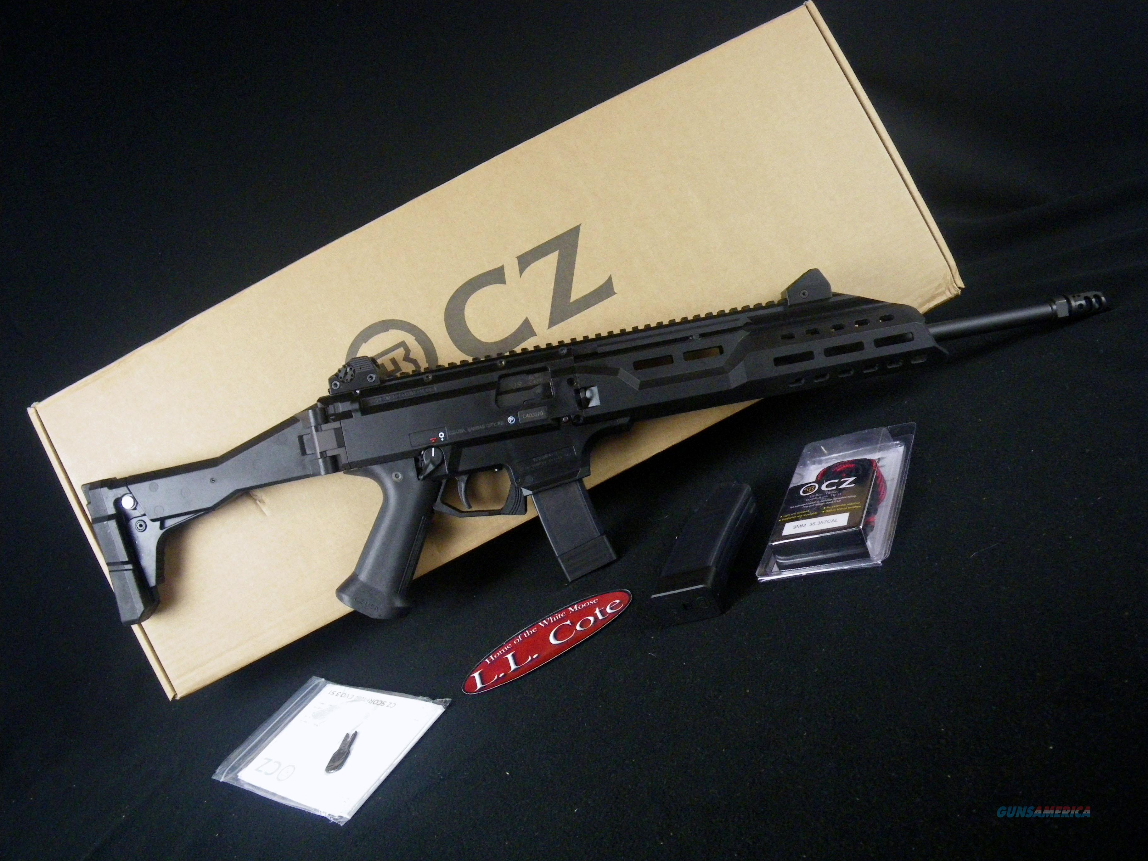 "CZ Scorpion EVO 3 S1 Carbine W/Brake 9mm 16.2"" NEW 08505  Guns > Rifles > CZ Rifles"