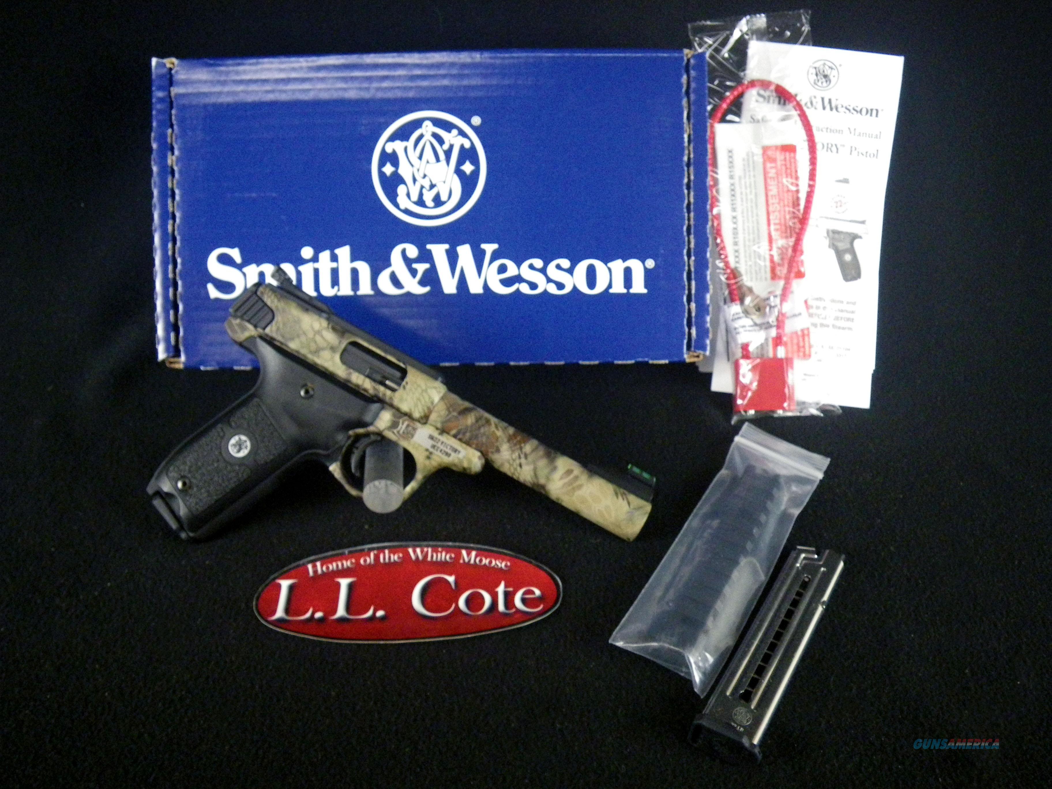 "Smith & Wesson SW22 Victory Kryptek 22lr 5.5"" NEW 10297  Guns > Pistols > Smith & Wesson Pistols - Autos > Polymer Frame"
