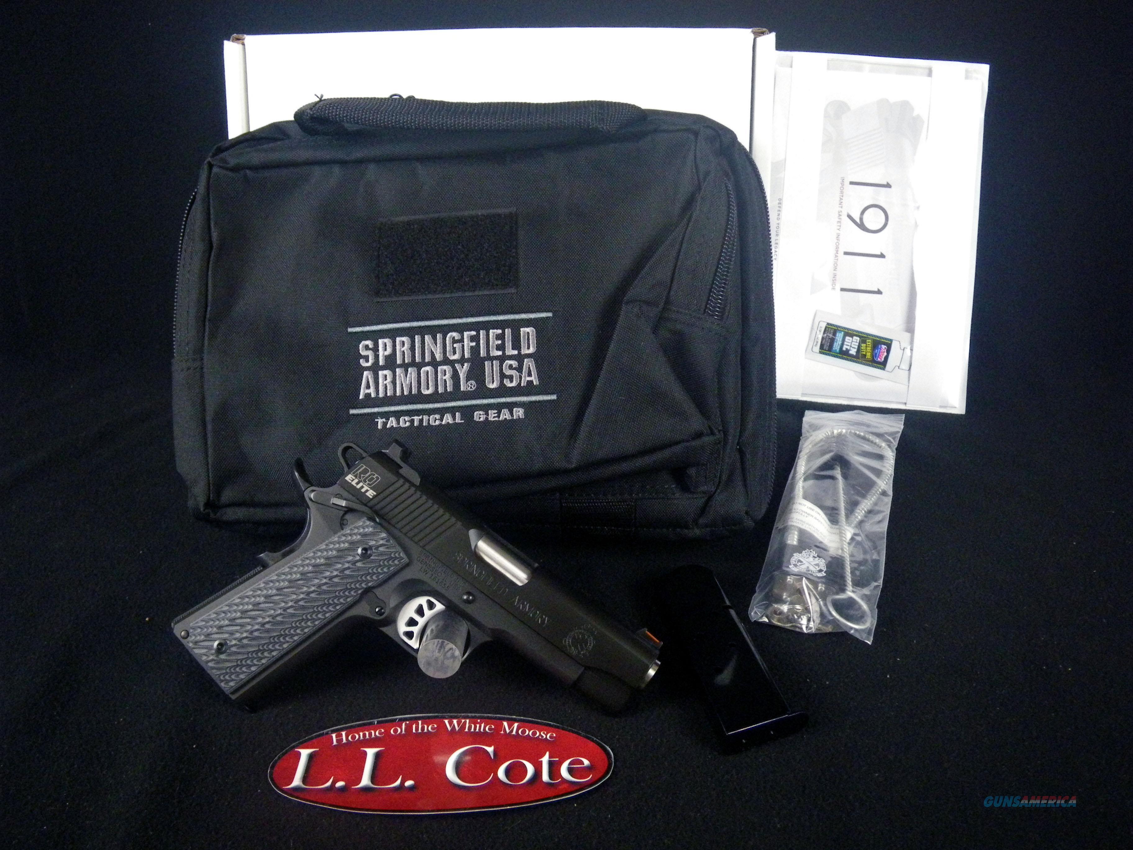 "Springfield 1911 Range Officer Elite 45ACP 4"" NEW PI9136E  Guns > Pistols > Springfield Armory Pistols > 1911 Type"